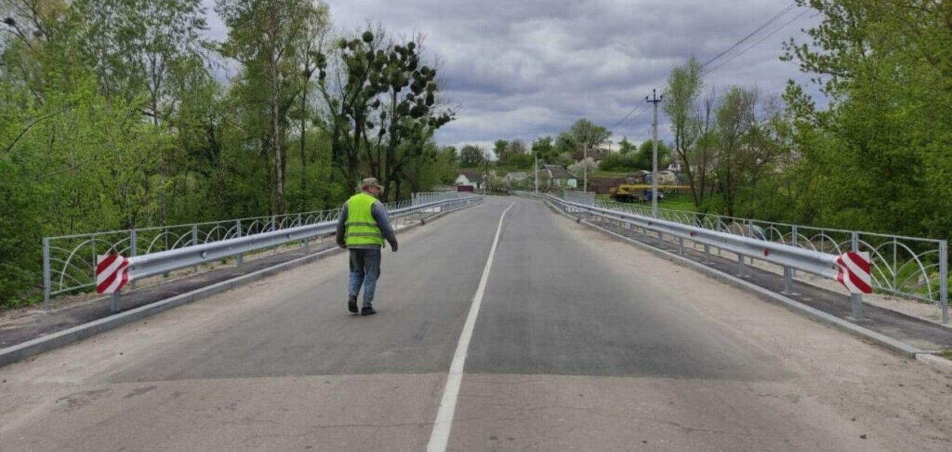 Міст на трасі О101914 /Р-04/–Плоске у Київській області буде відновлено за програмою 'Велике будівництво'