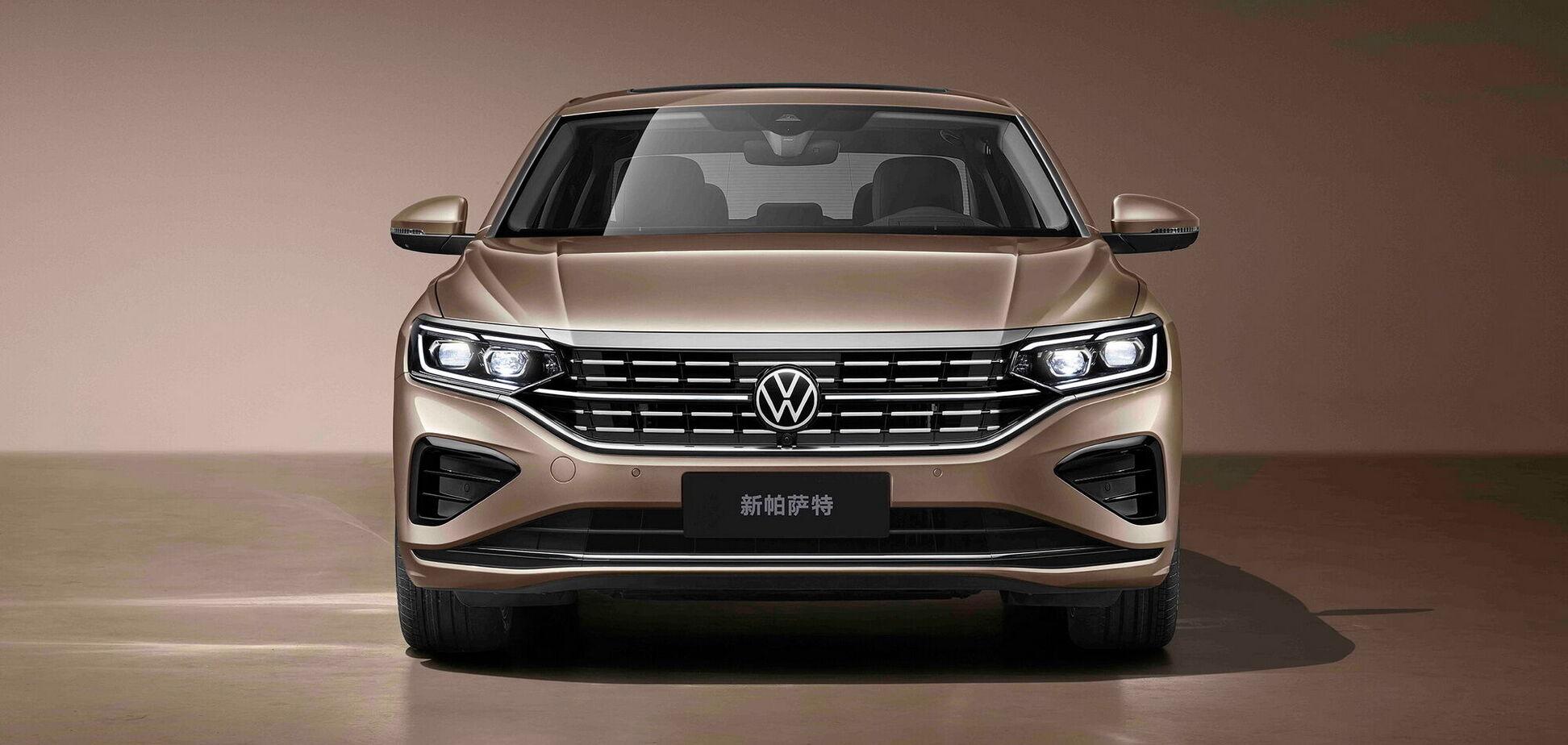 Китайский VW Passat обновили и увеличили в размерах