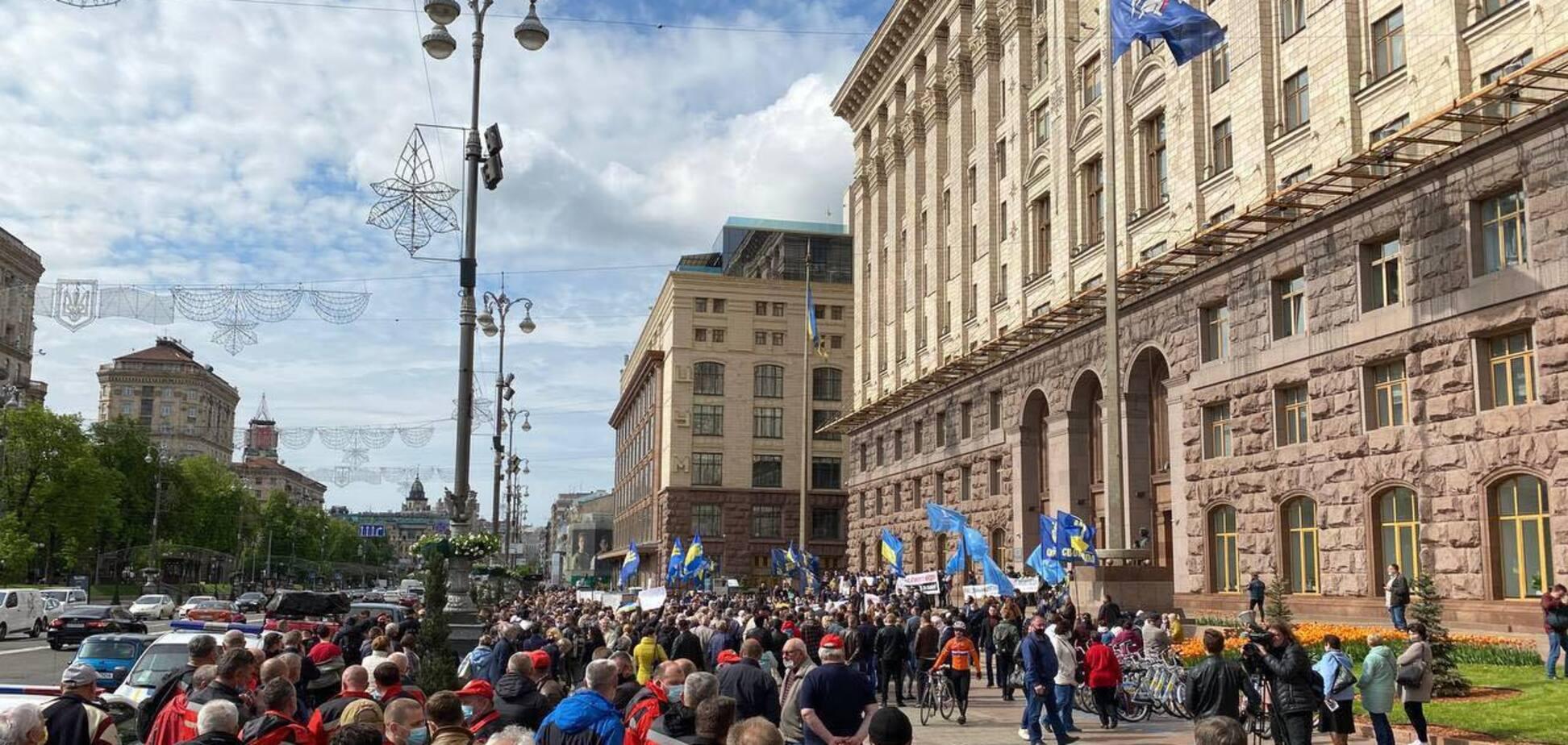 ДПТ Минского массива так и не рассмотрел Киевсовет