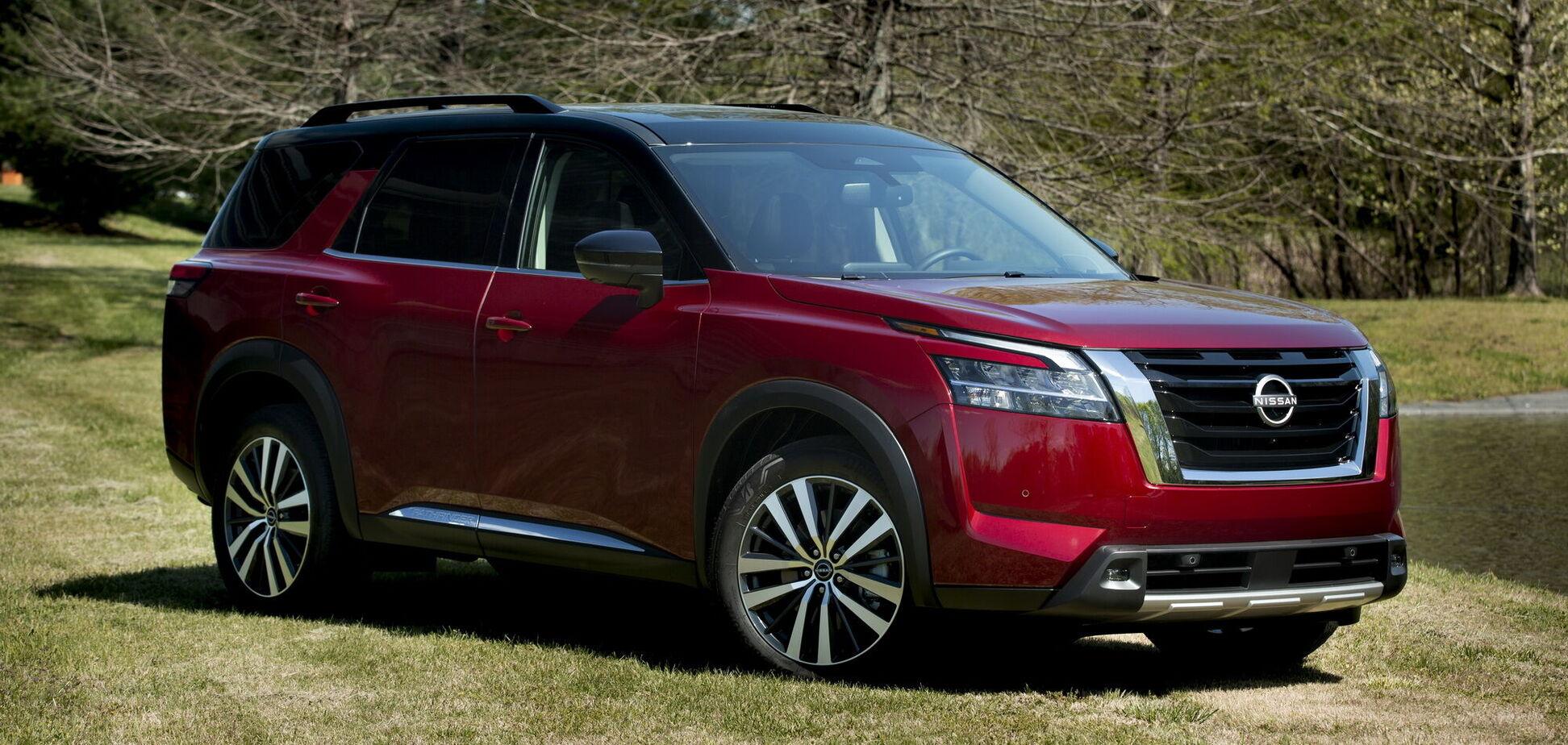 Новый Nissan Pathfinder отправился на конвейер