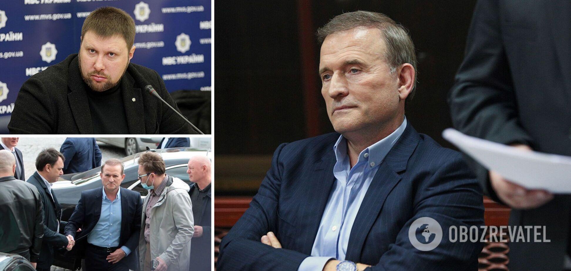 Радник Авакова: якщо Медведчуку винесуть вирок, то про нього в Україні швидко всі забудуть