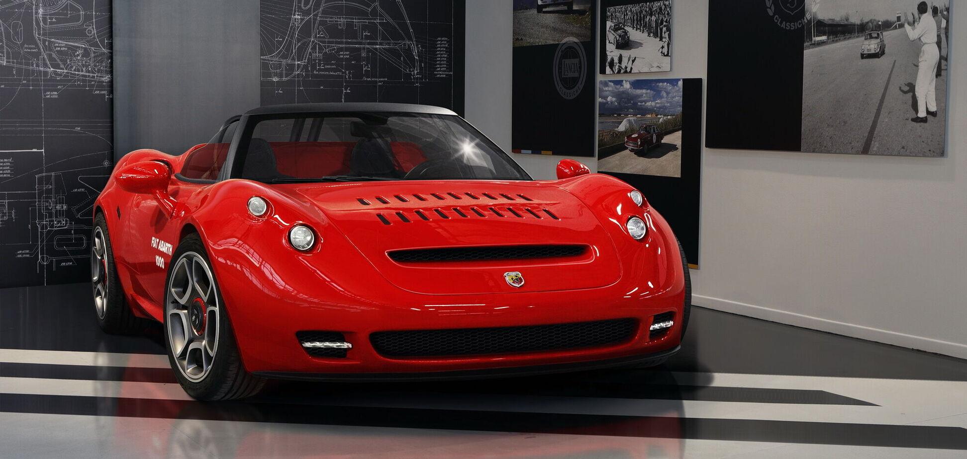 Італійський Abarth створив концепт за мотивами моделі 60-х