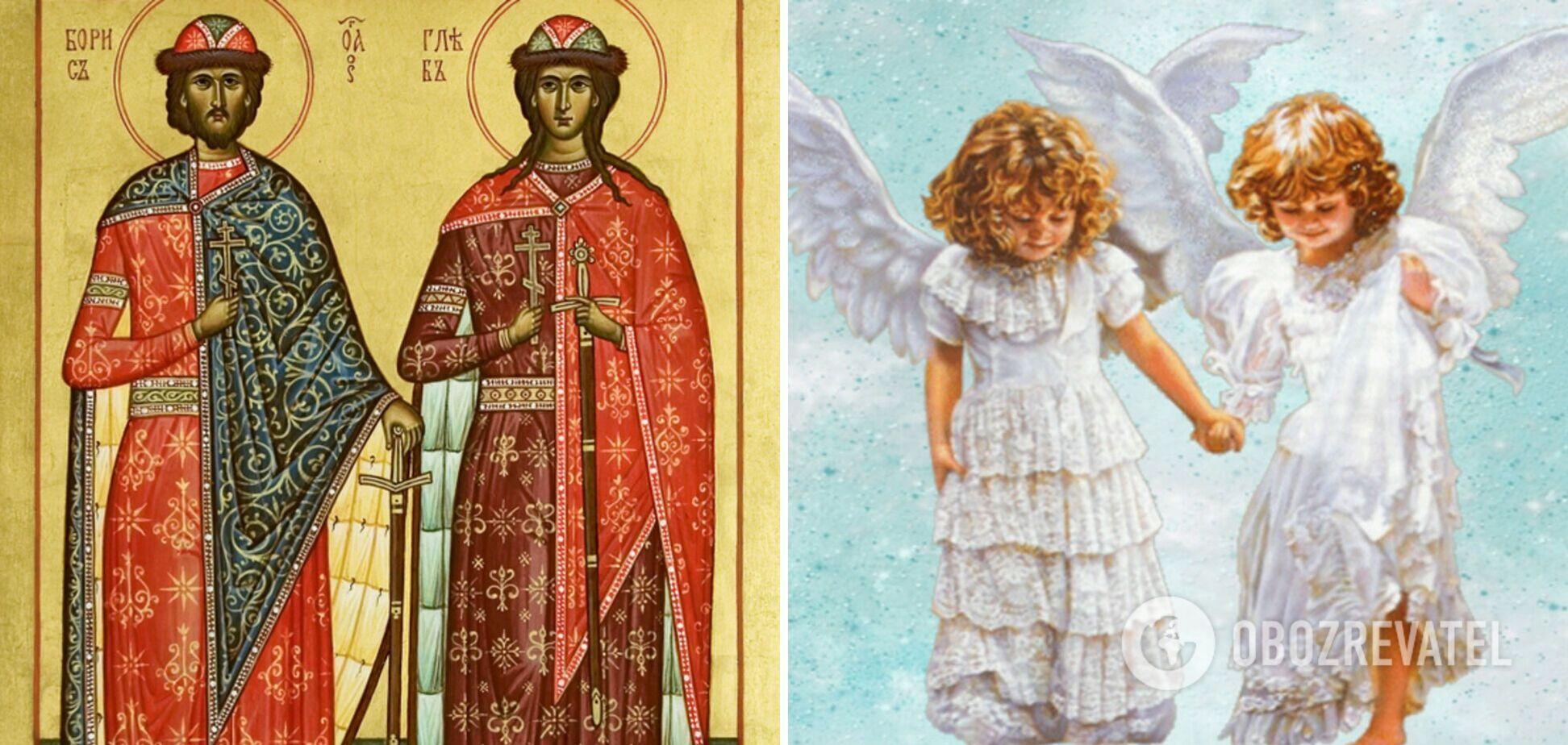 15 травня віряни шанують перших святих Київської Русі