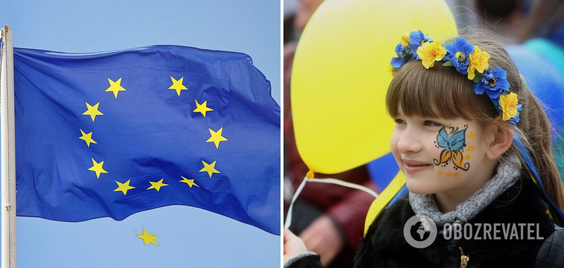 День Європи відзначається на державному рівні кожну третю суботу травня