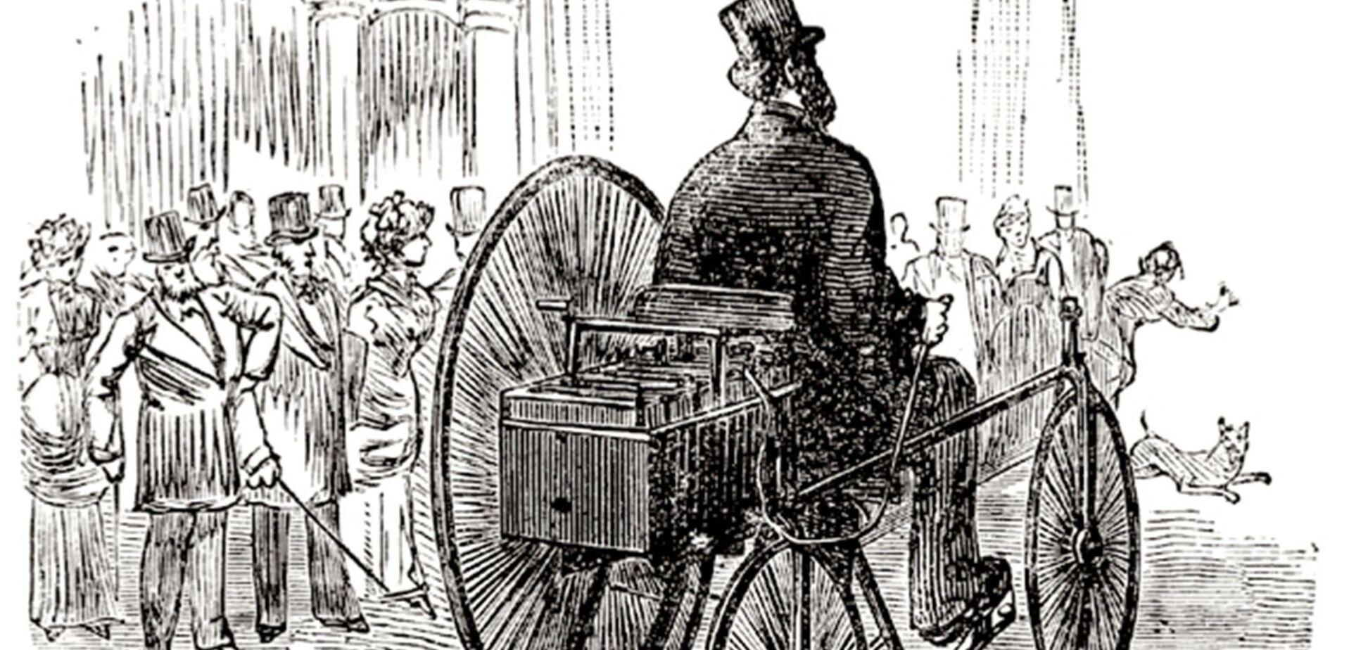 Репліка першого в історії електрокару