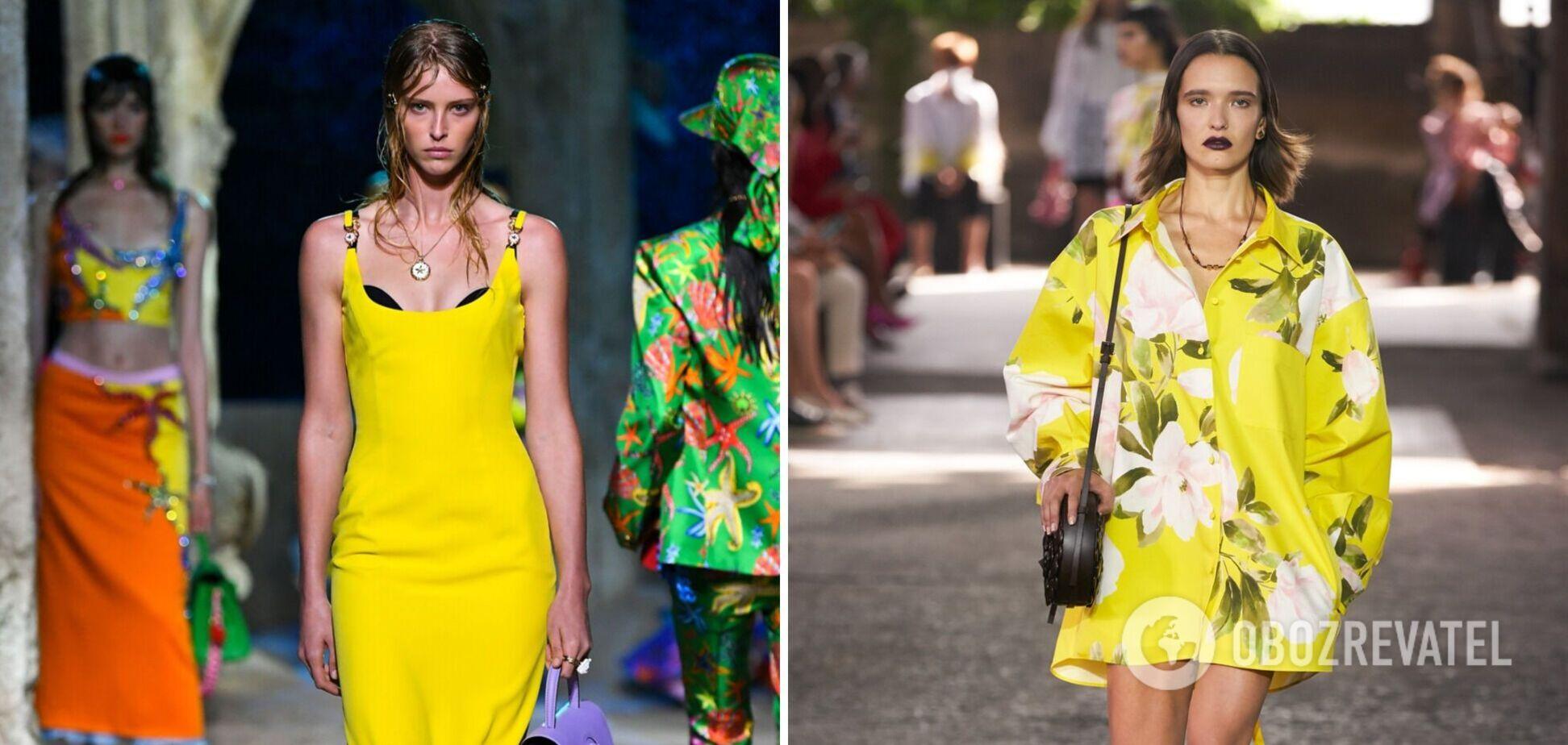 Жовтий – тренд сезону весна-літо 2021