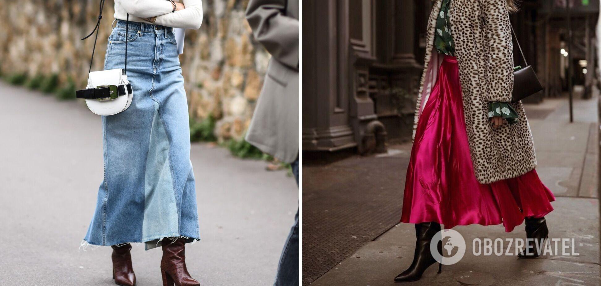 Модні спідниці на весну 2021