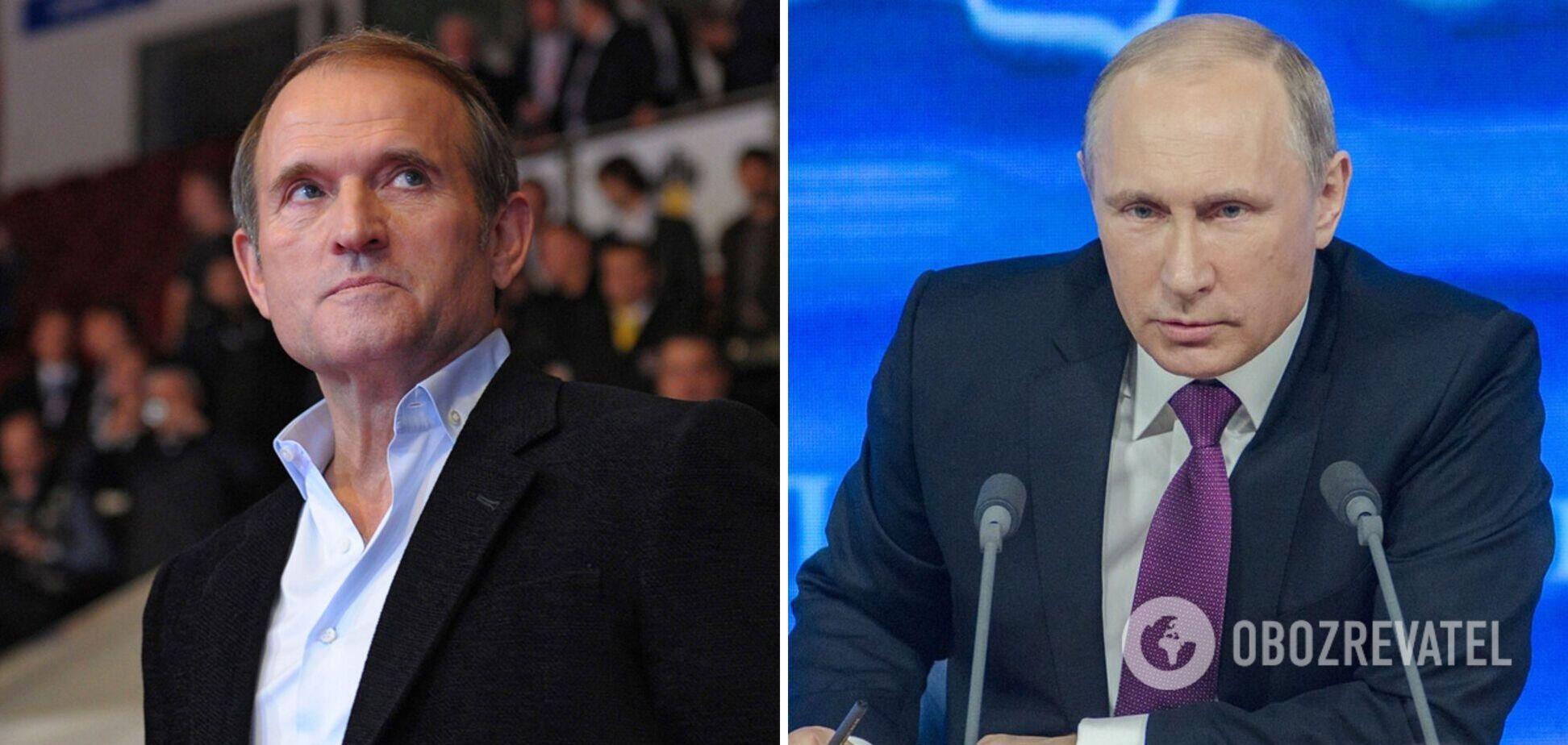 У РФ відреагували на рішення суду щодо Медведчука: Путін заявив про 'зачистку'