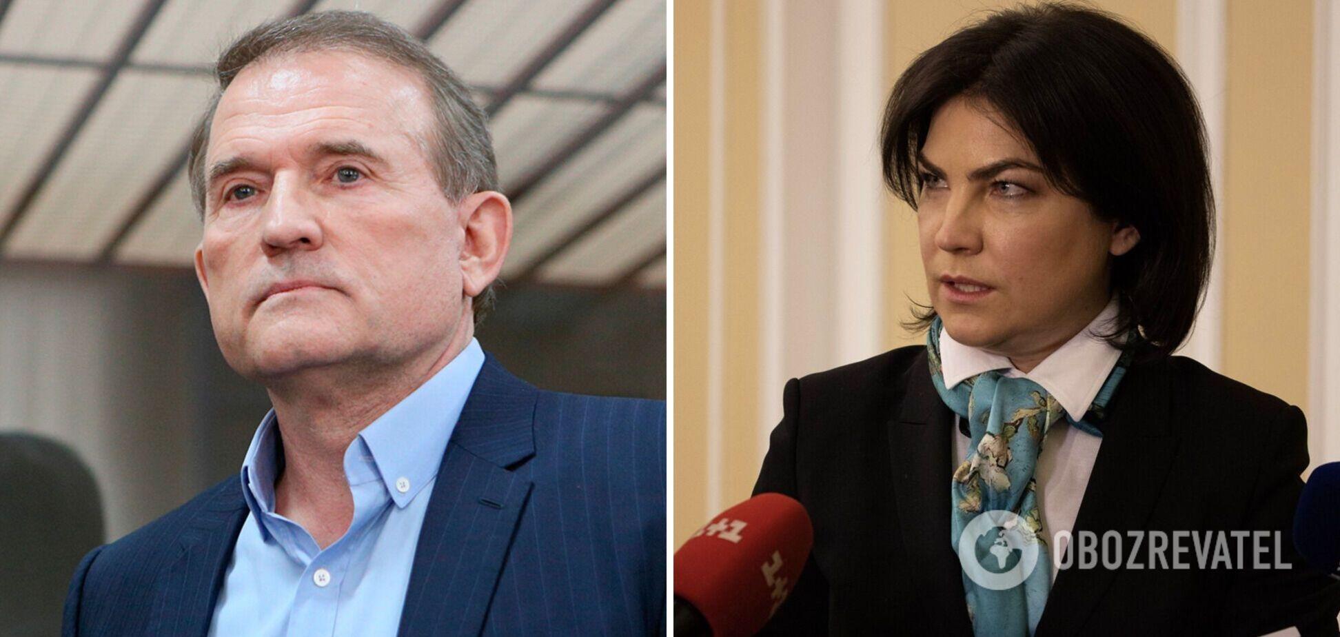 Венедіктова відповіла, чи буде оскаржувати домашній арешт Медведчука
