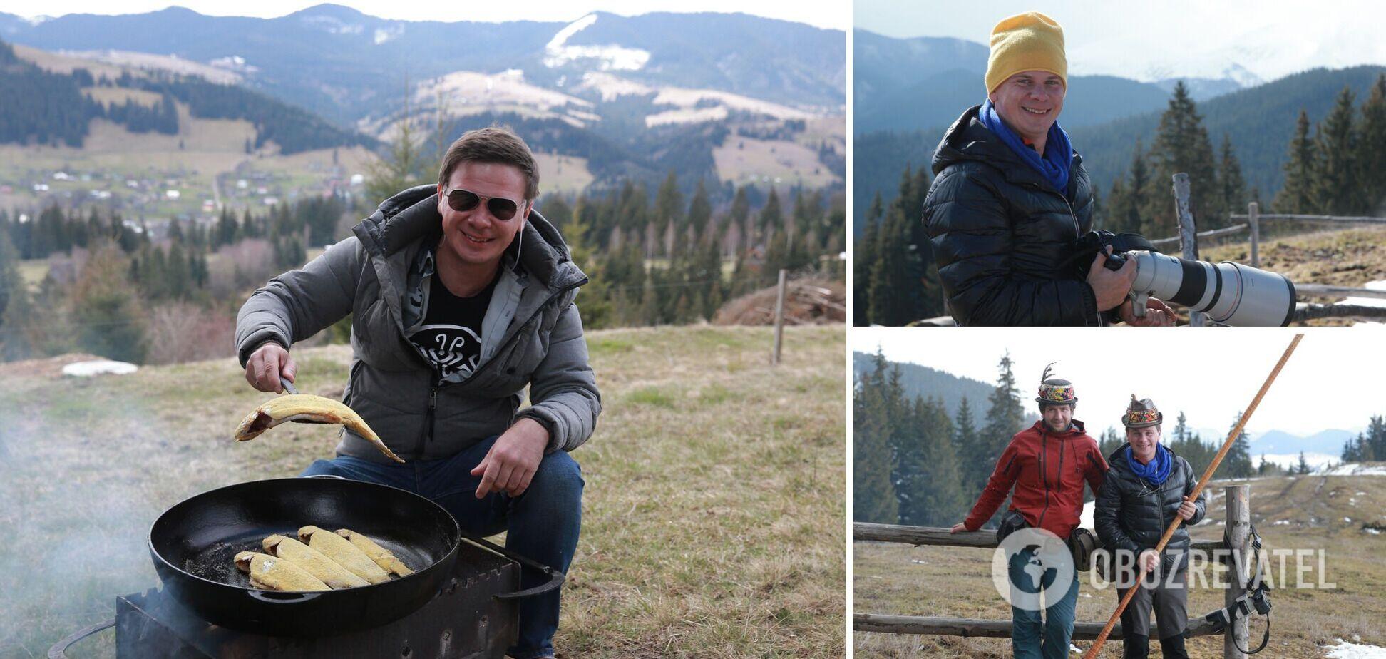 'В Украине туристические возможности лучше, чем в Европе': Дмитрий Комаров открыл секреты нового проекта. Эксклюзив
