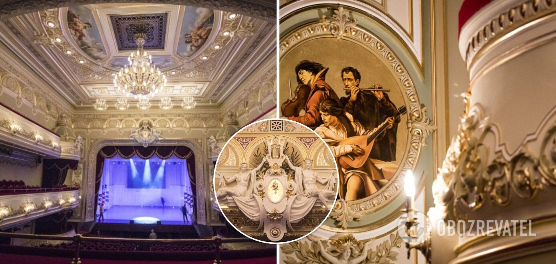 Пышное убранство и атмосфера прошлого: в Киеве отреставрировали театр оперетты. Фото, видео