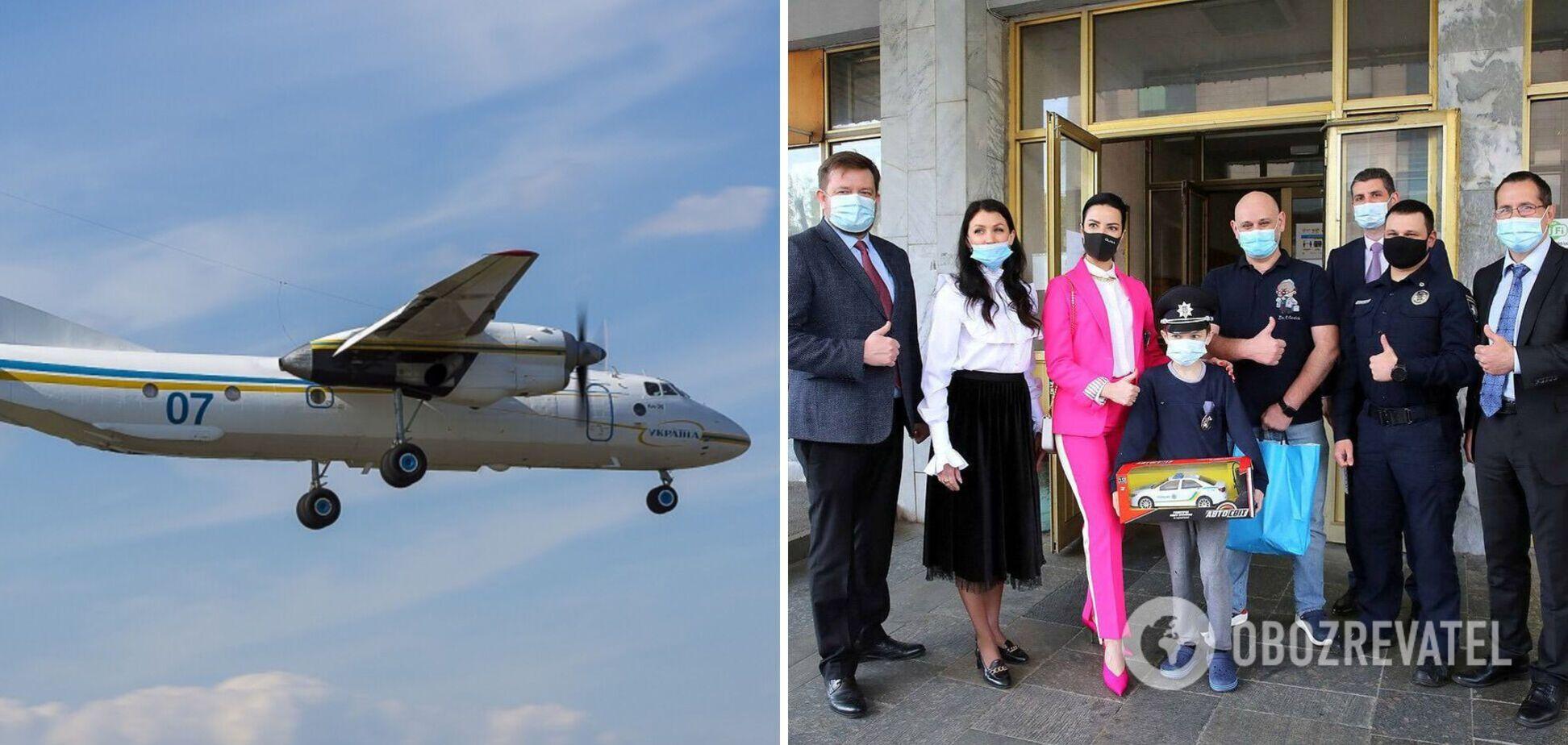 В Украине второй раз пересадили почку ребенку от неродственного донора: орган доставила авиация Нацгвардии