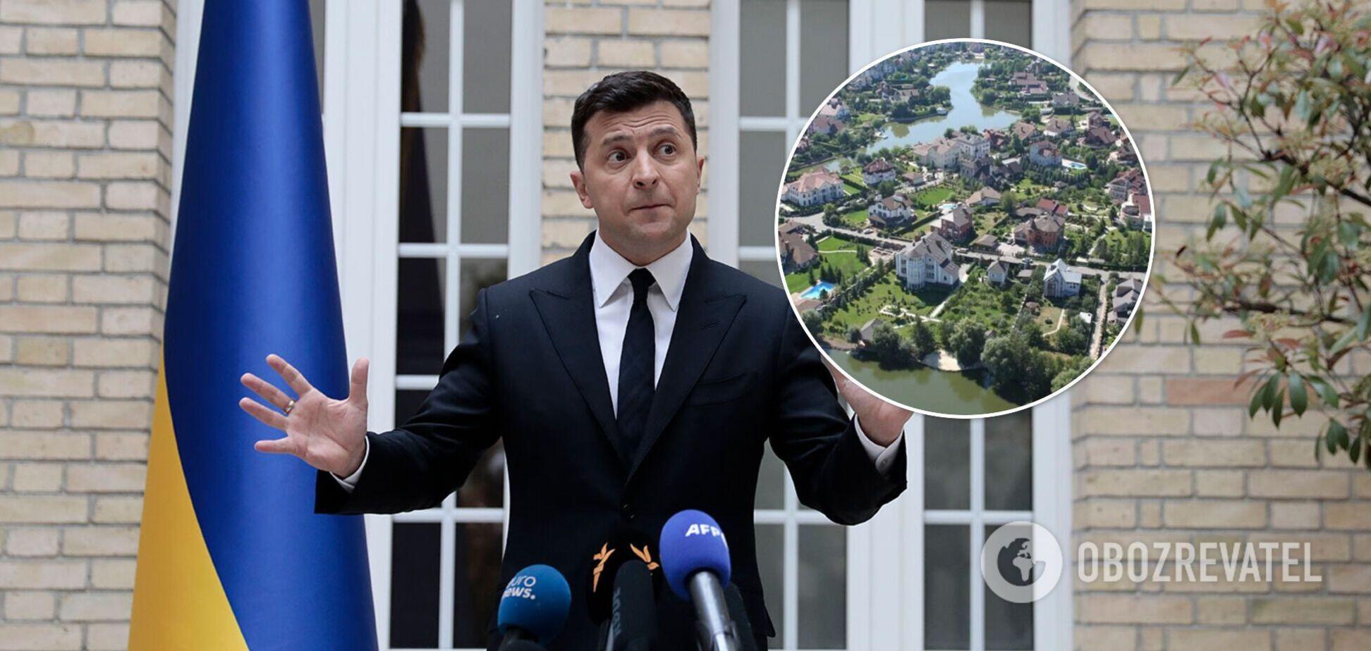 Зеленський анонсував переселення ексчиновників із Конча-Заспи і Пущі-Водиці