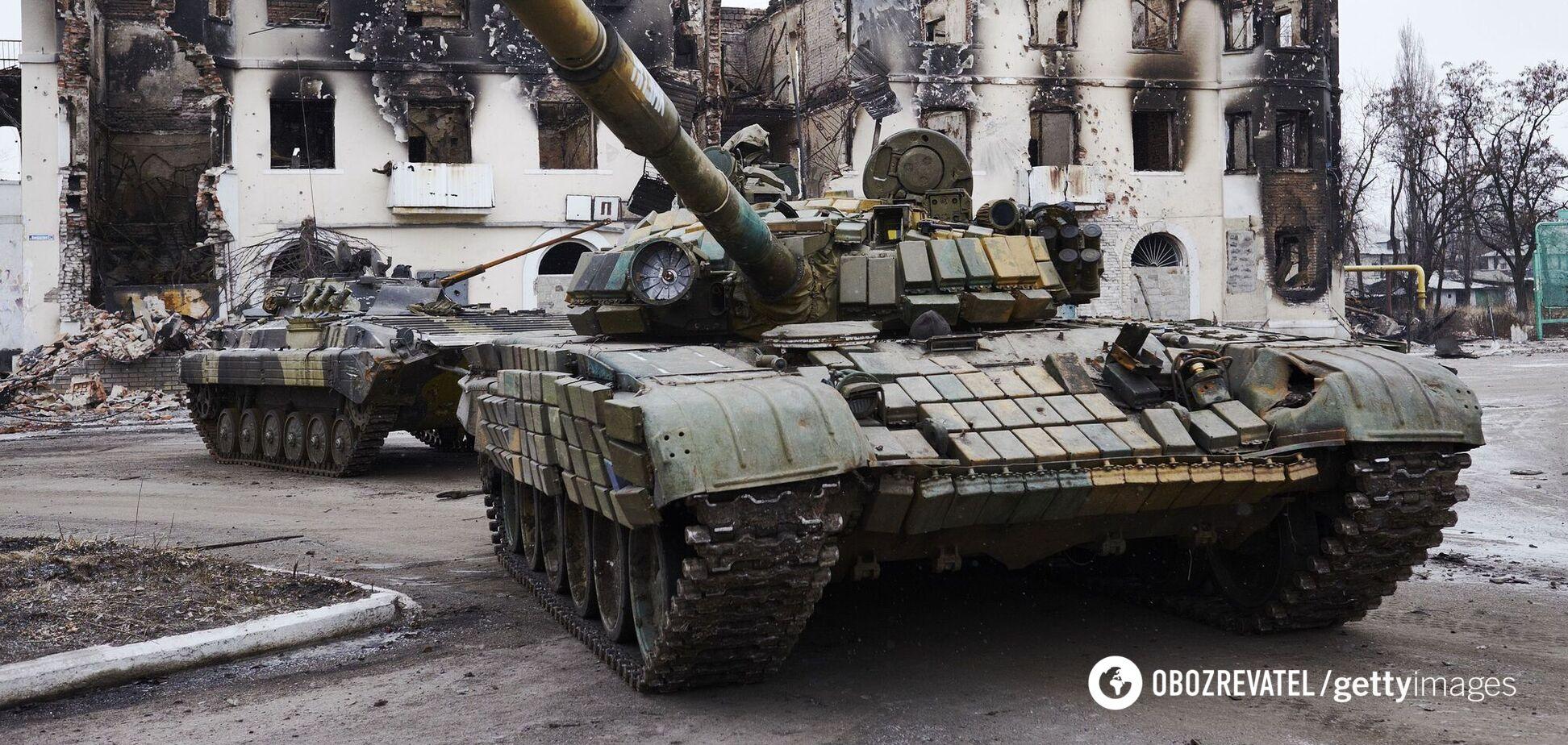 Оккупанты 19 раз обстреляли ВСУ из танков и артиллерии