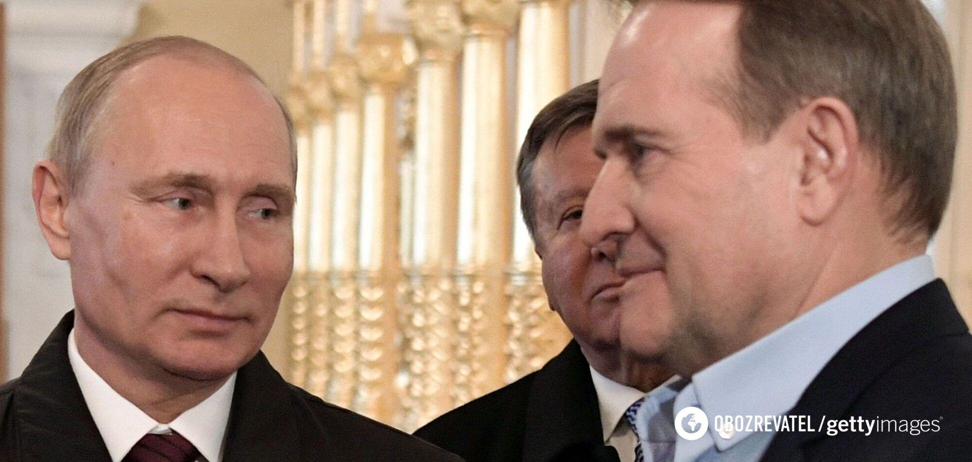 Путин лично отреагировал на дело Медведчука