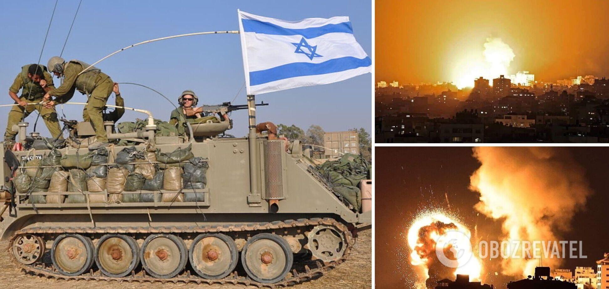 Ізраїль почав наземну операцію проти ХАМАСу в секторі Газа. Фото та відео