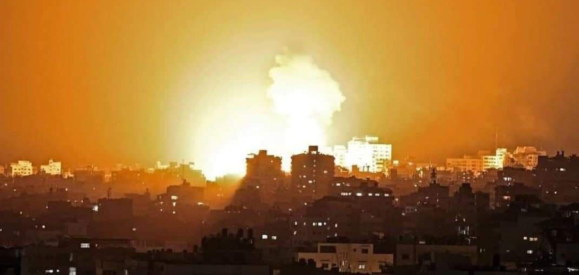 Ізраїльська армія проводить сухопутну операцію в Газі