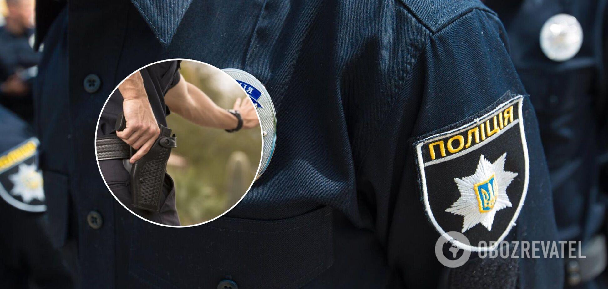 У Чернігові поліцейські застрелили чоловіка, який погрожував їм ножами
