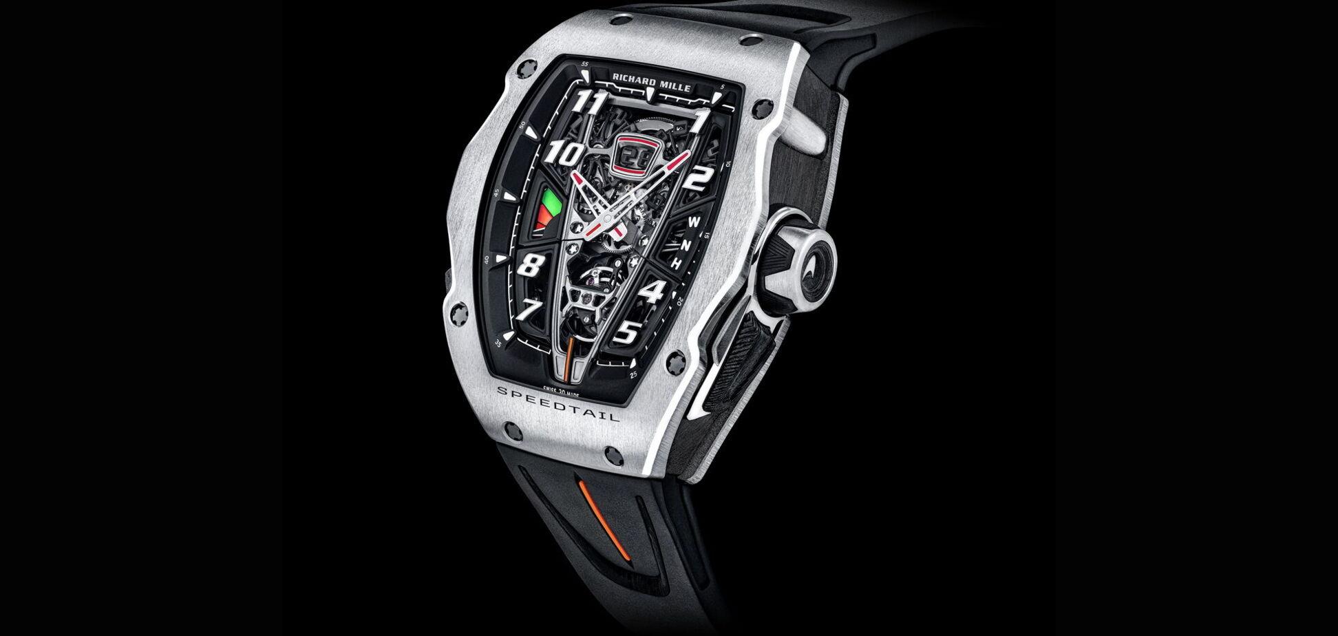 Richard Mille випустить годинник за $1 мільйон на честь гіперкара McLaren
