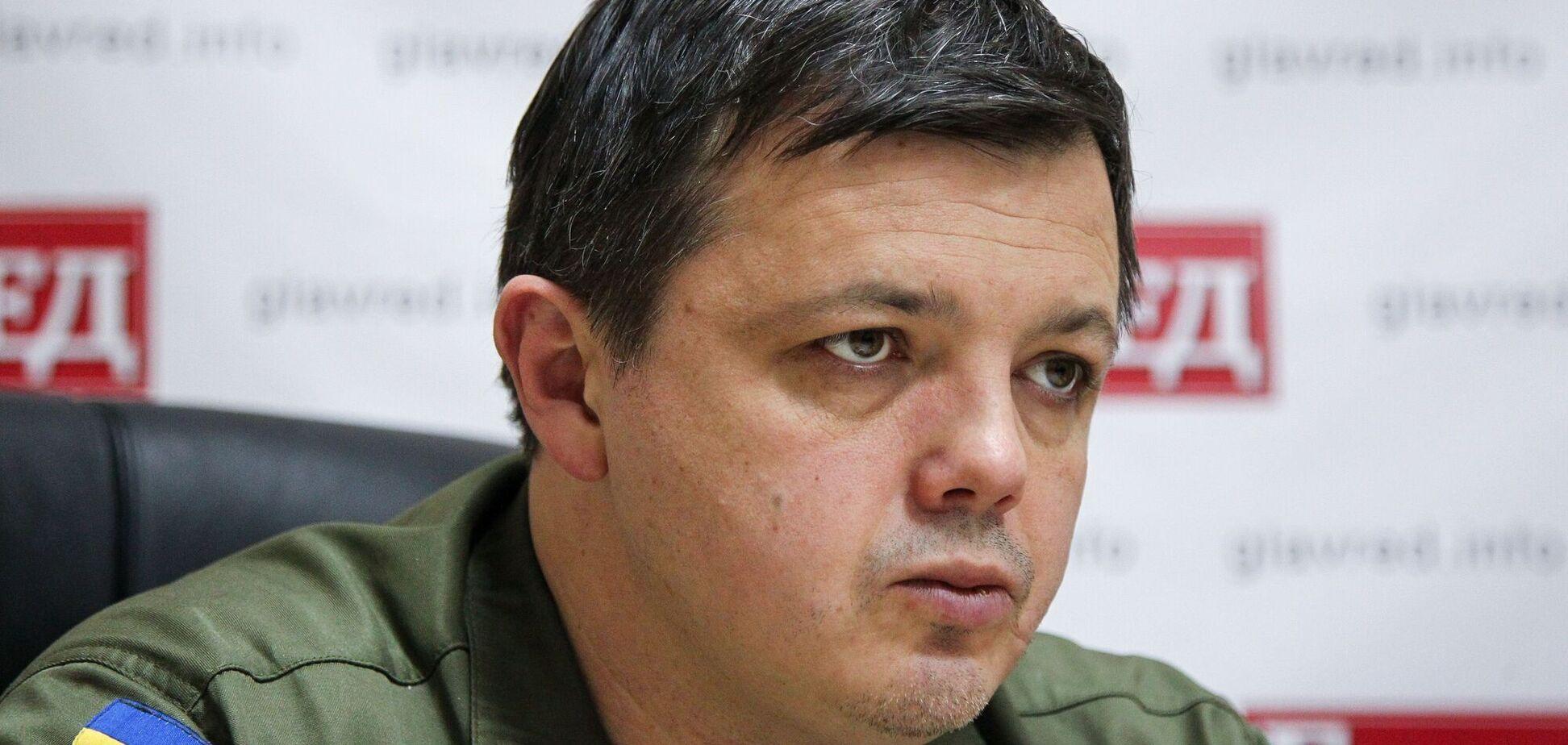 Семенченко вручили подозрение в организации теракта на телеканале