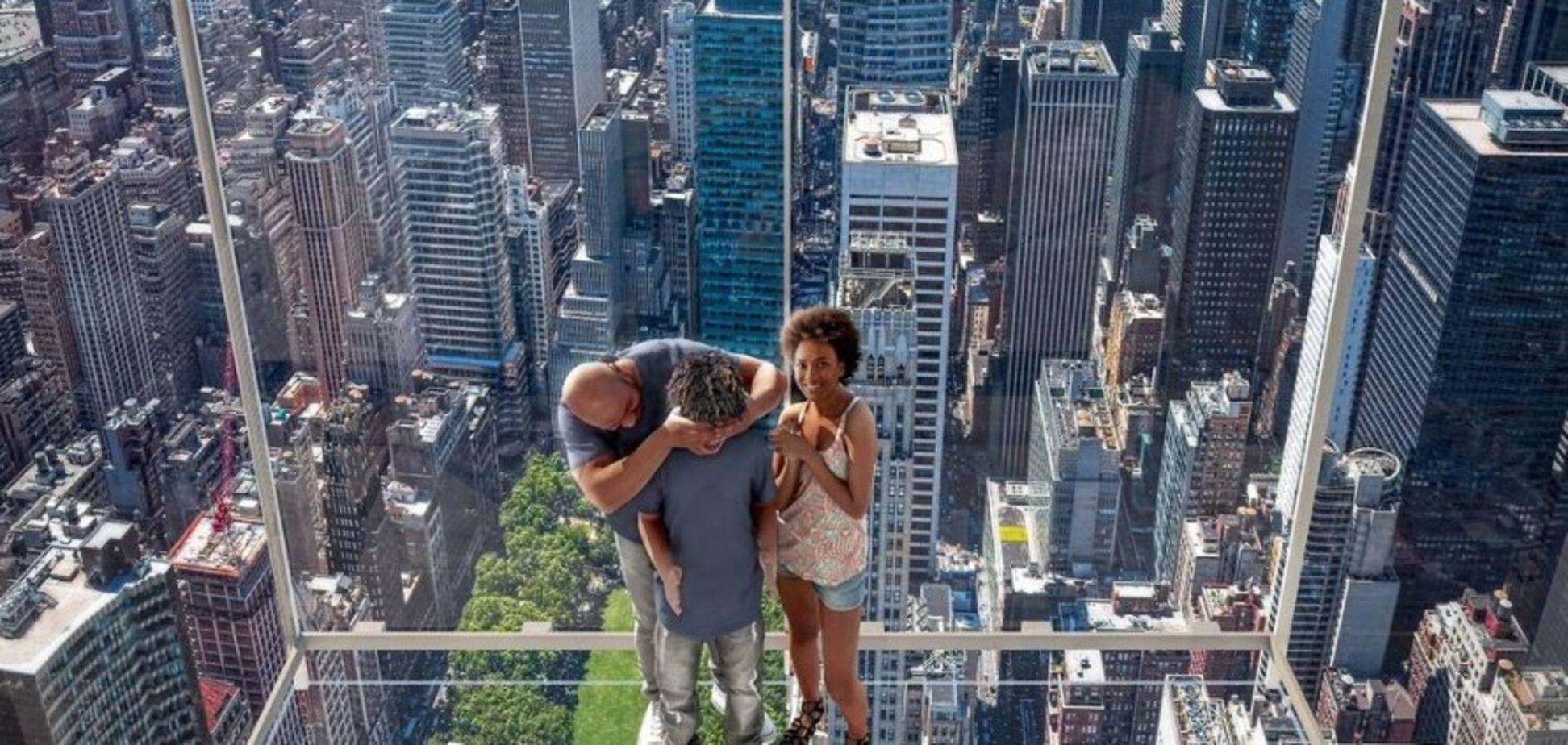 Испытание на смелость: нью-йоркскую высотку оборудуют необычным лифтом