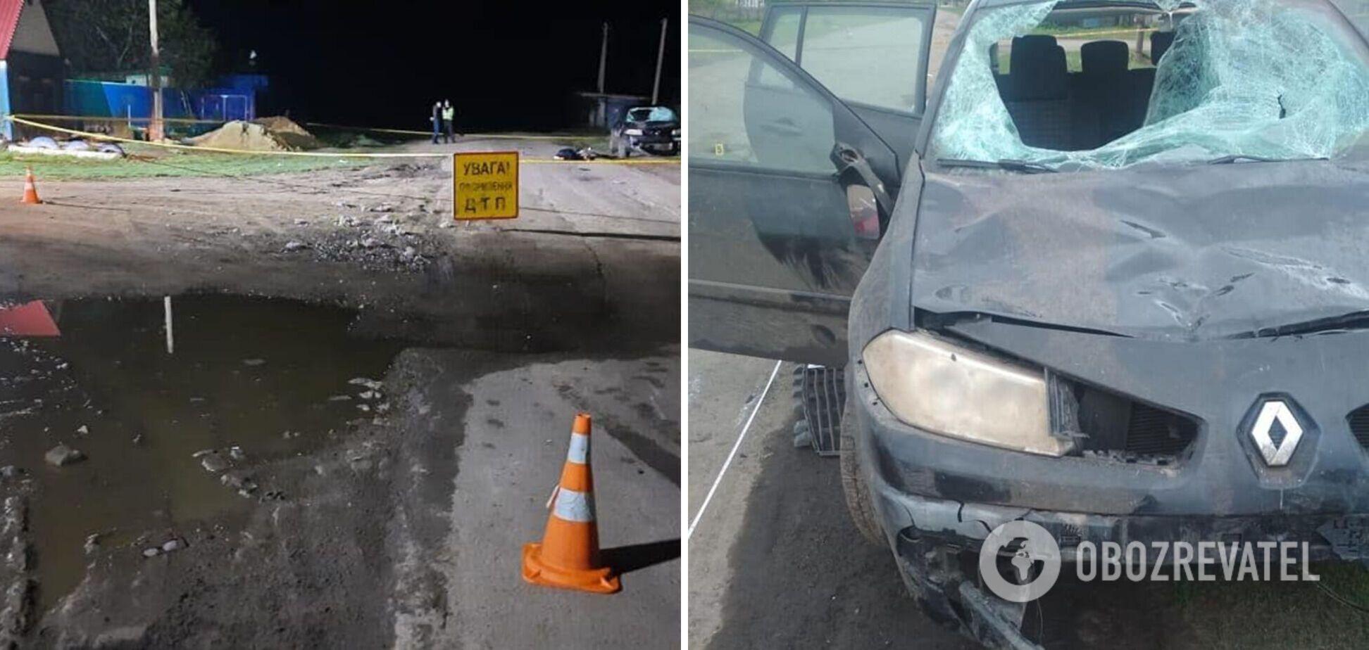 На Луганщині п'яний водій влетів у підлітків: один загинув, у трьох важкі травми. Фото