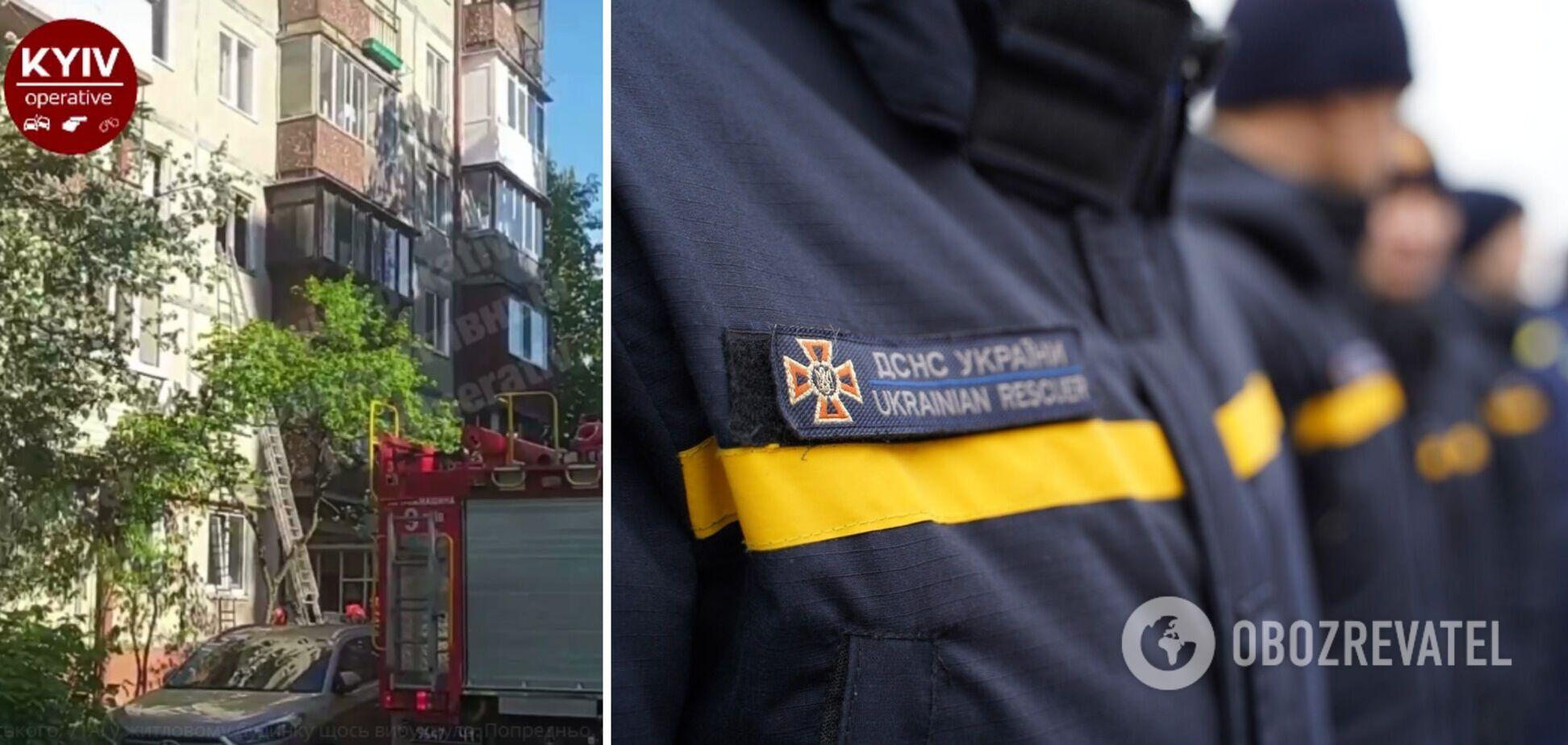 У Києві прогримів вибух у багатоповерхівці
