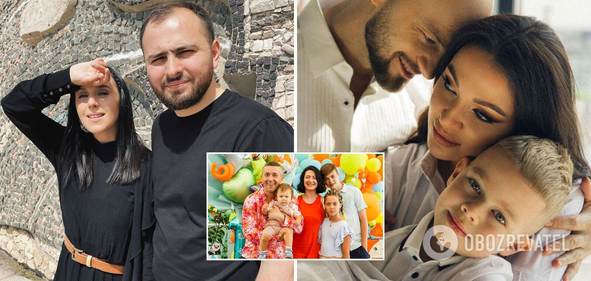 Бабкин, Яма, Джамала показали семейные фото и поздравили с праздником