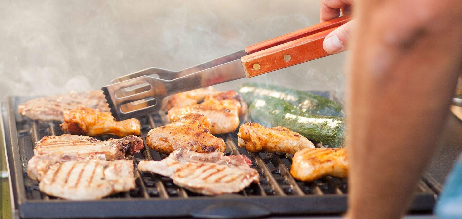 Как правильно готовить овощи и мясо на гриле