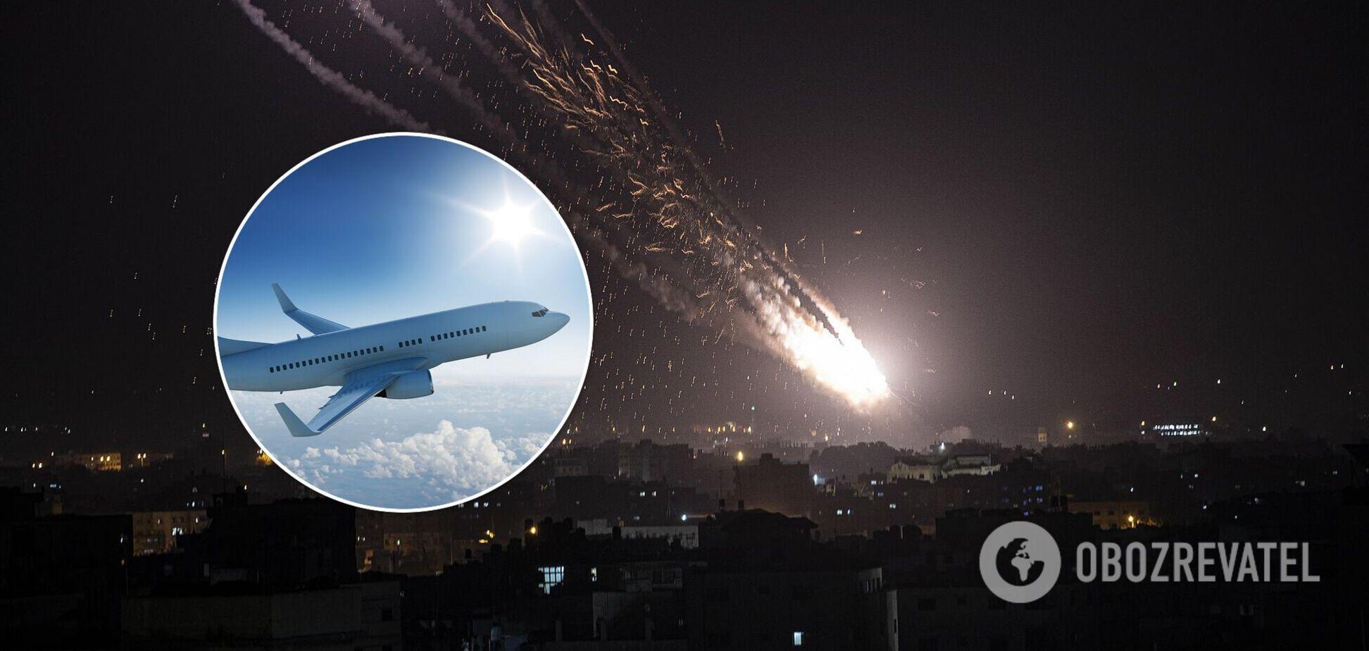 Ізраїль заборонив всі авіарейси через ракетні обстріли