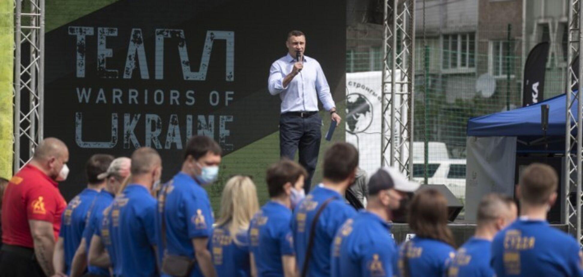 Мер Києва Віталій Кличко взяв участь у відкритті фестивалю «Звитяга Нескорених»