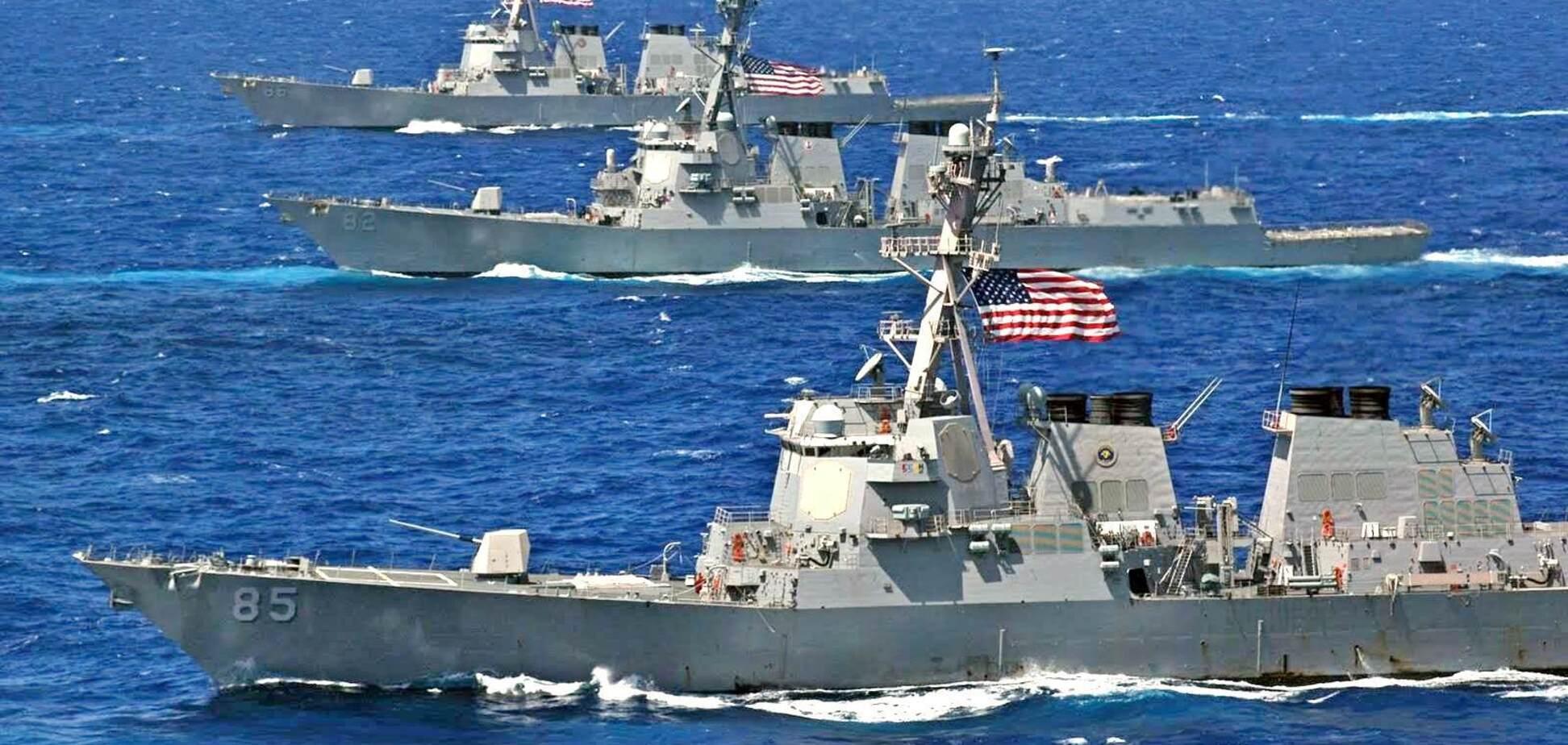 НАТО наращивает силы против России в Черном море