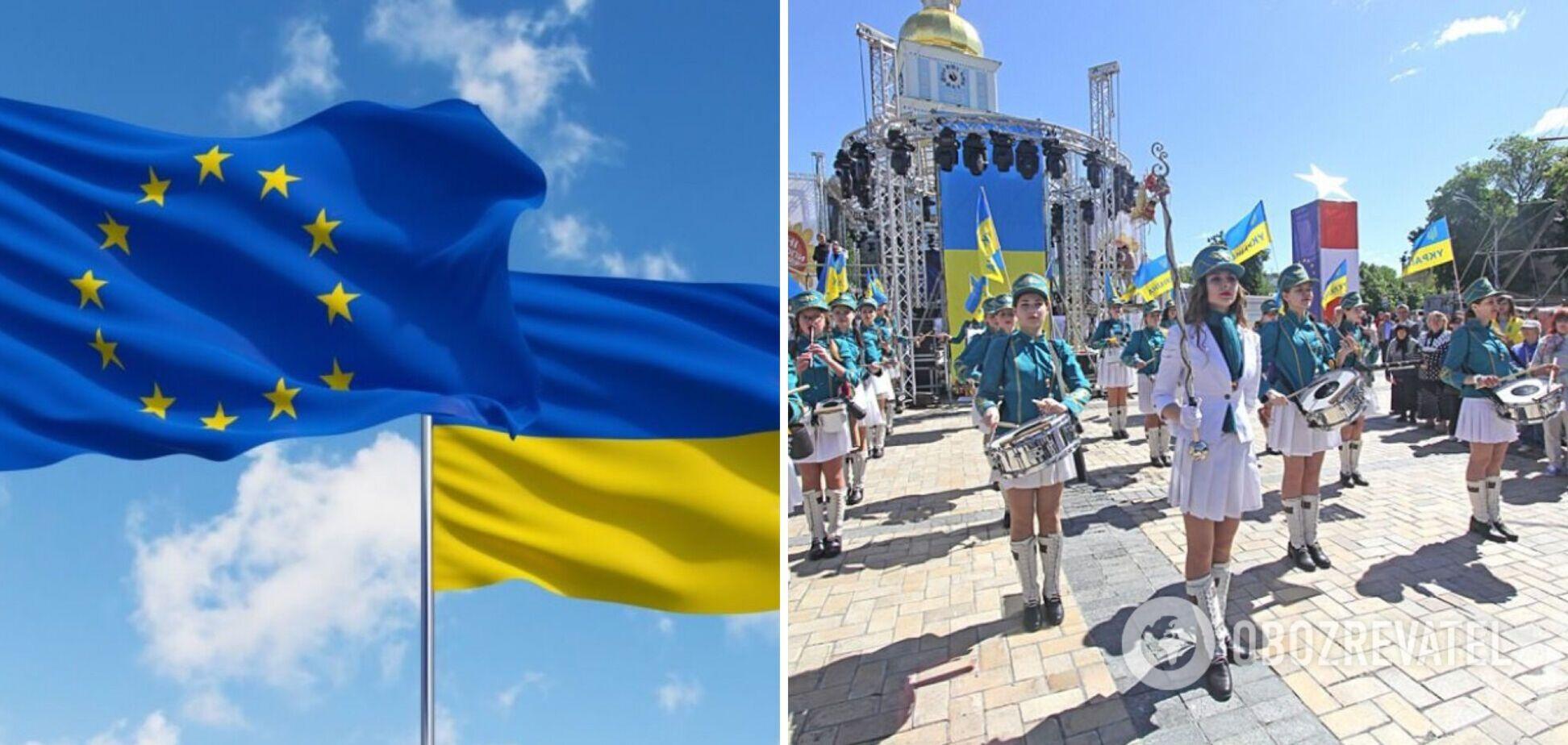 День Європи в Києві: опубліковано програму святкових заходів