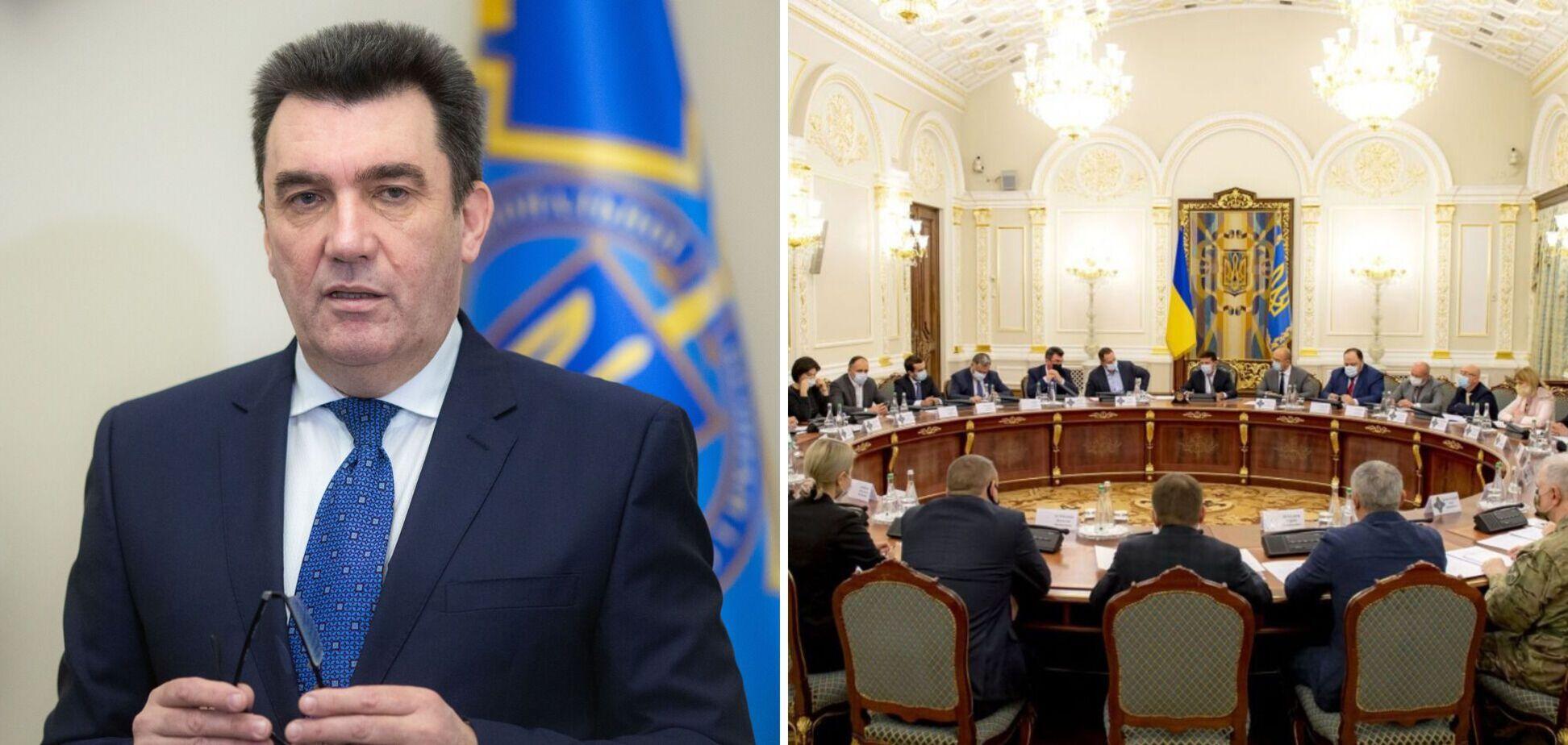 РНБО готує засідання щодо прикордонних областей України, – Данілов