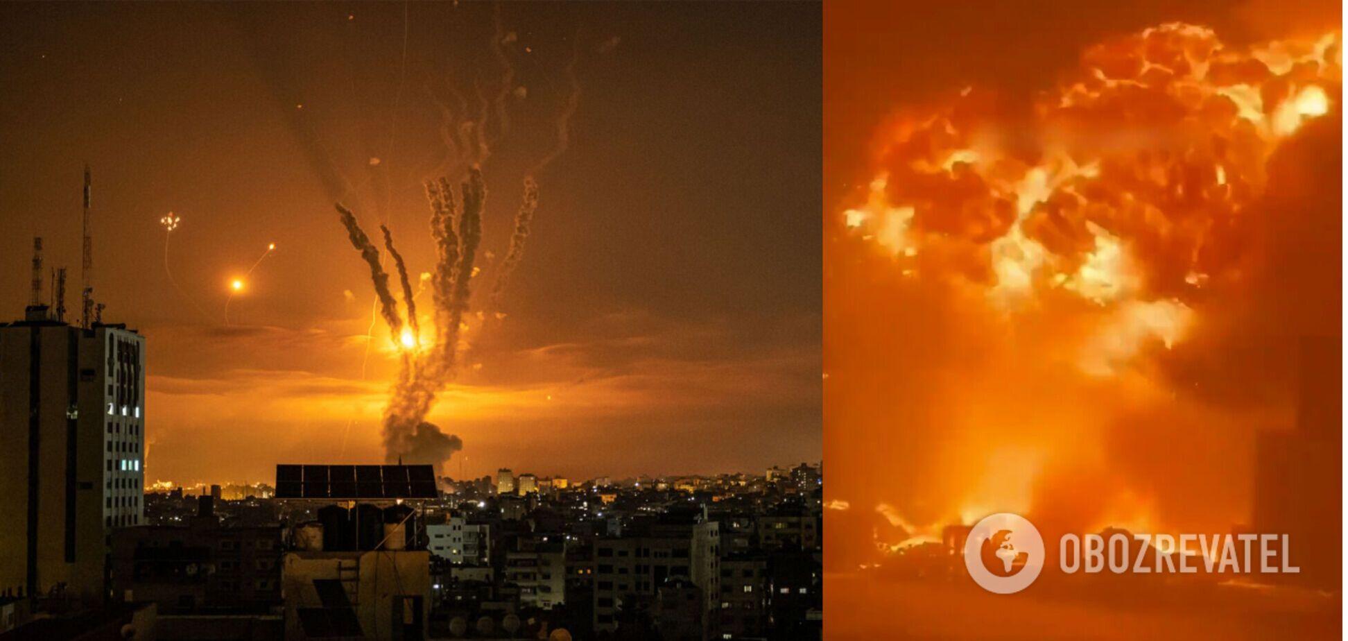 Ракетные атаки по Израилю