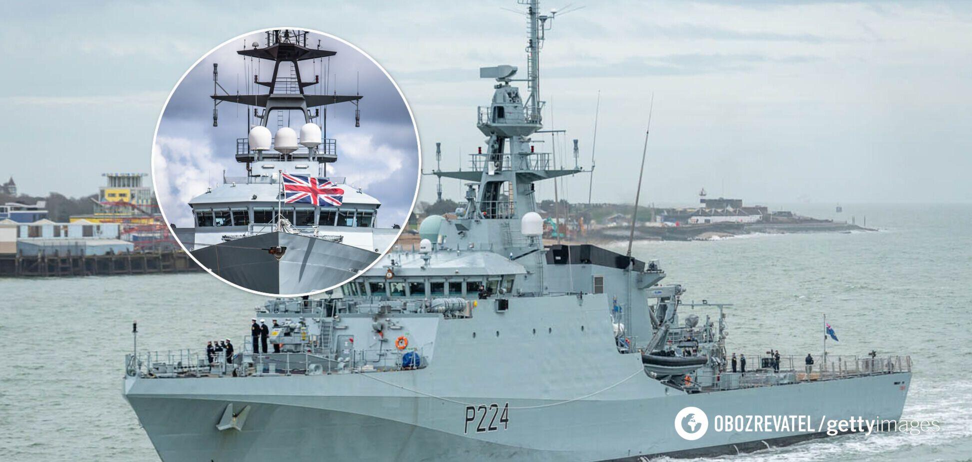 В Черное море вошел патрульный корабль Британии Trent: в РФ встревожились