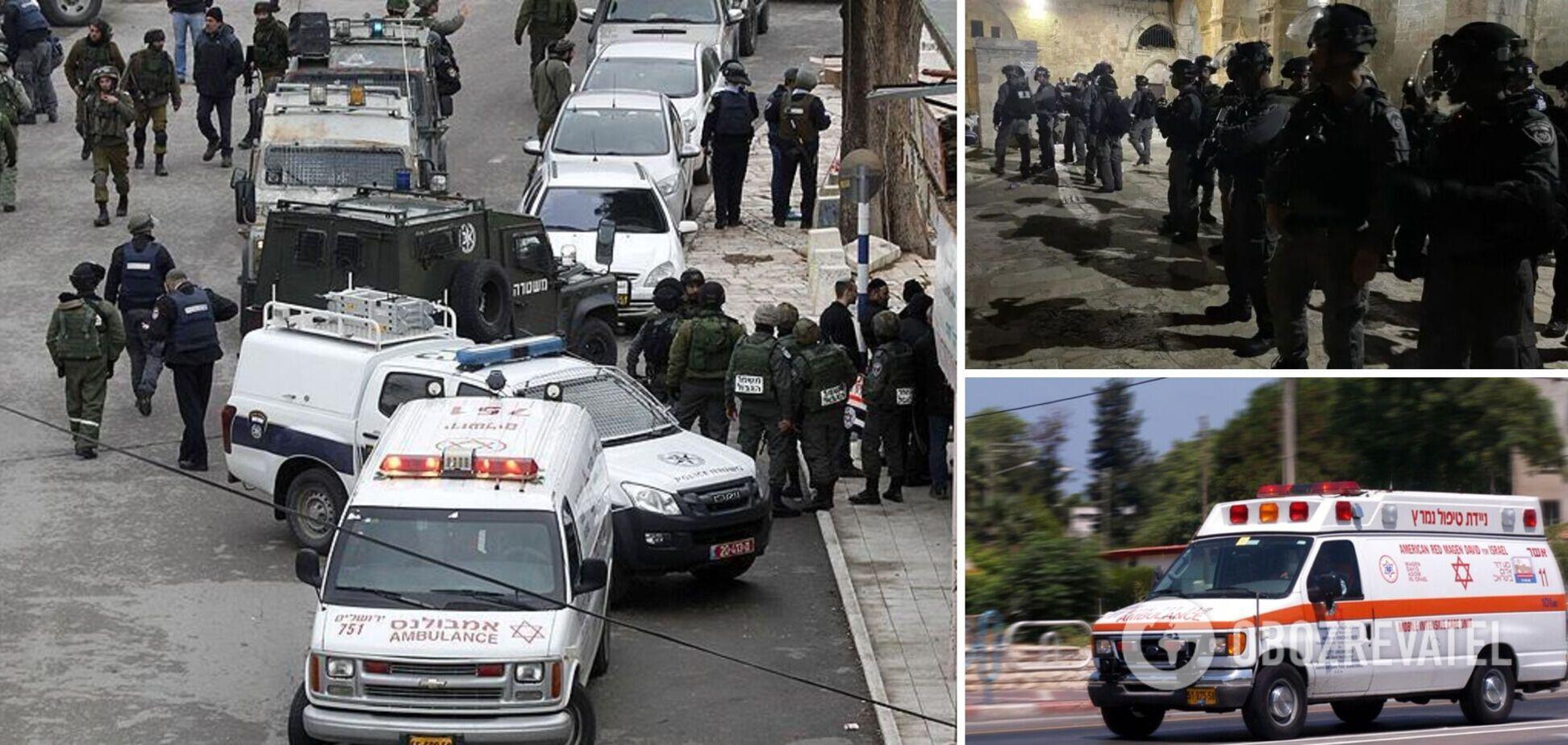 В Иерусалиме совершили теракт: ранены полицейские
