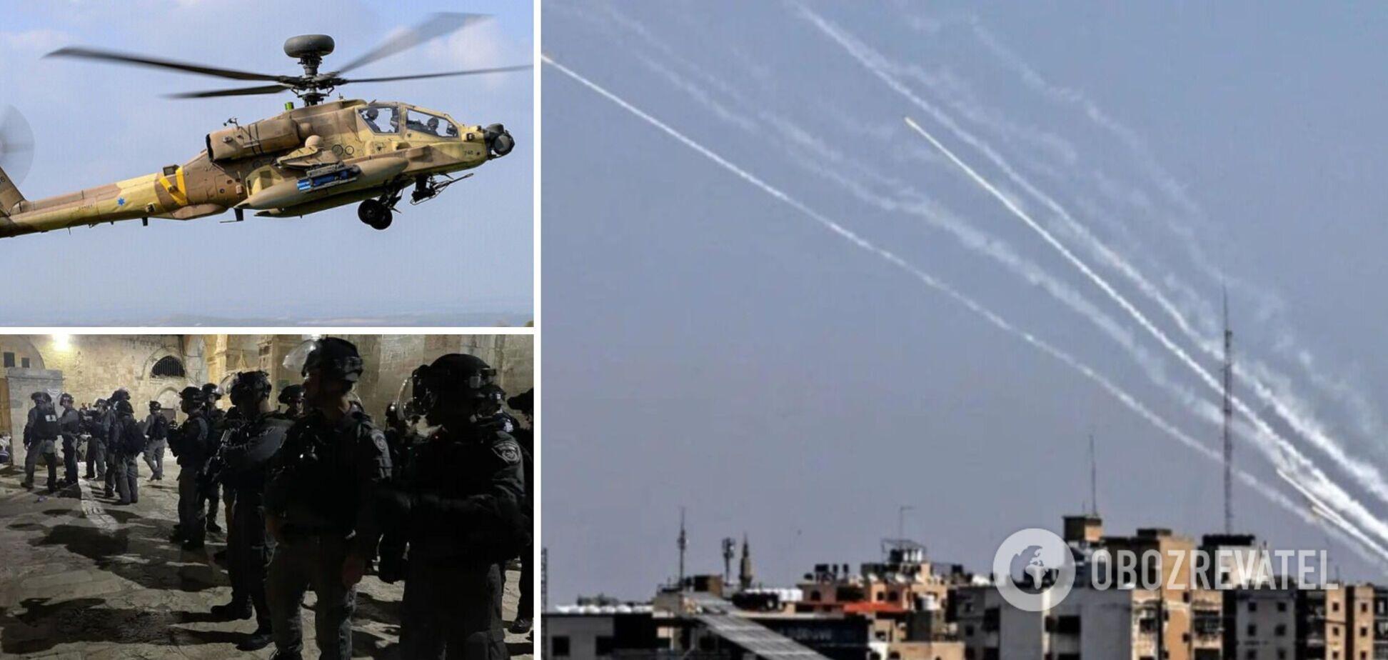 Ізраїль відмовився від обстрілів об'єктів, де є діти, ХАМАС же продовжив атаку. Показові кадри