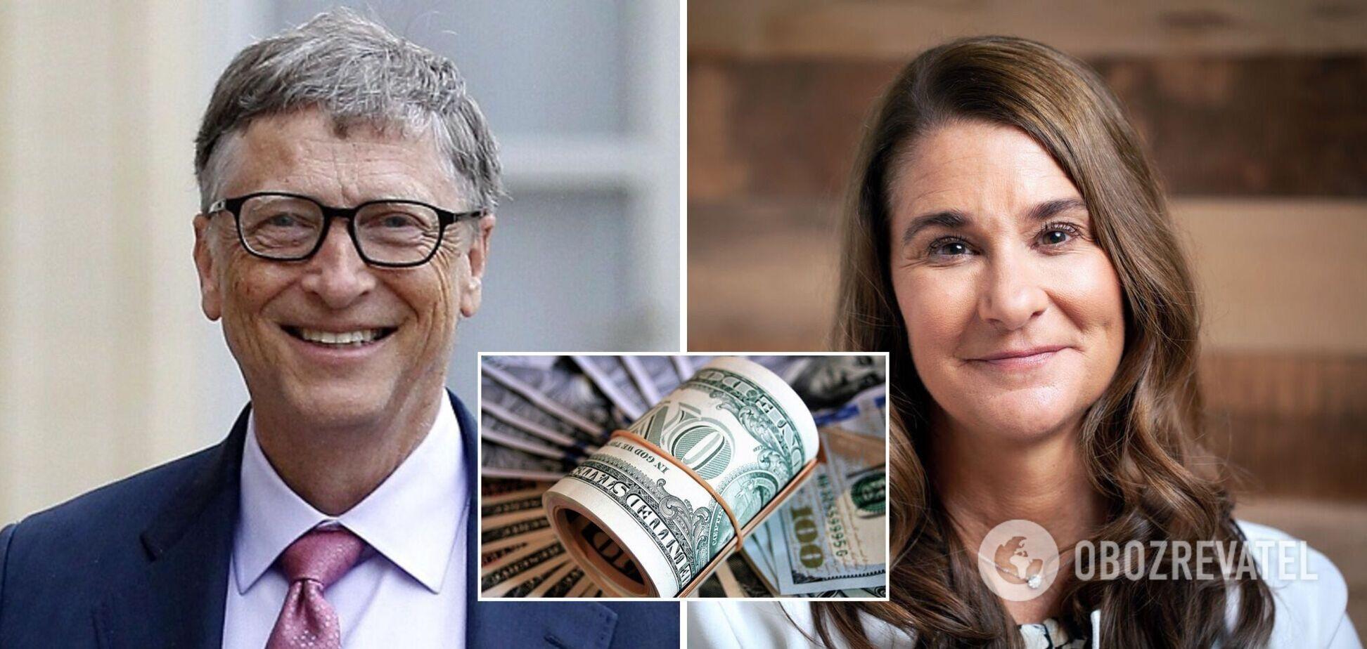 Дружина Білла Гейтса після розлучення отримала акції на мільярди доларів