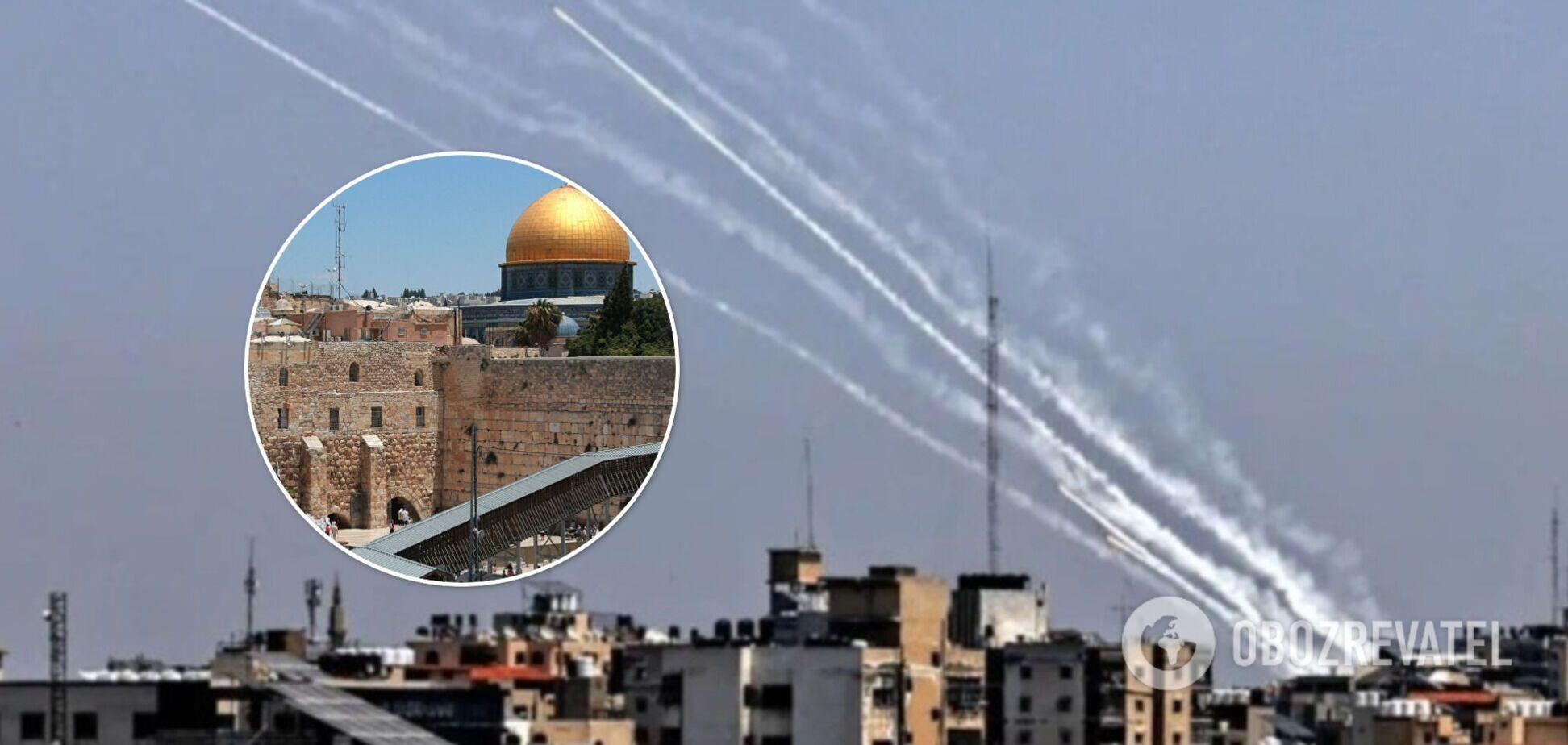 Израиль атаковал офис внутренней безопасности ХАМАСа. Видео