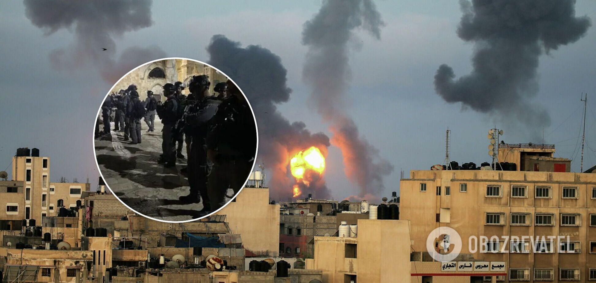На міста Ізраїлю падають снаряди