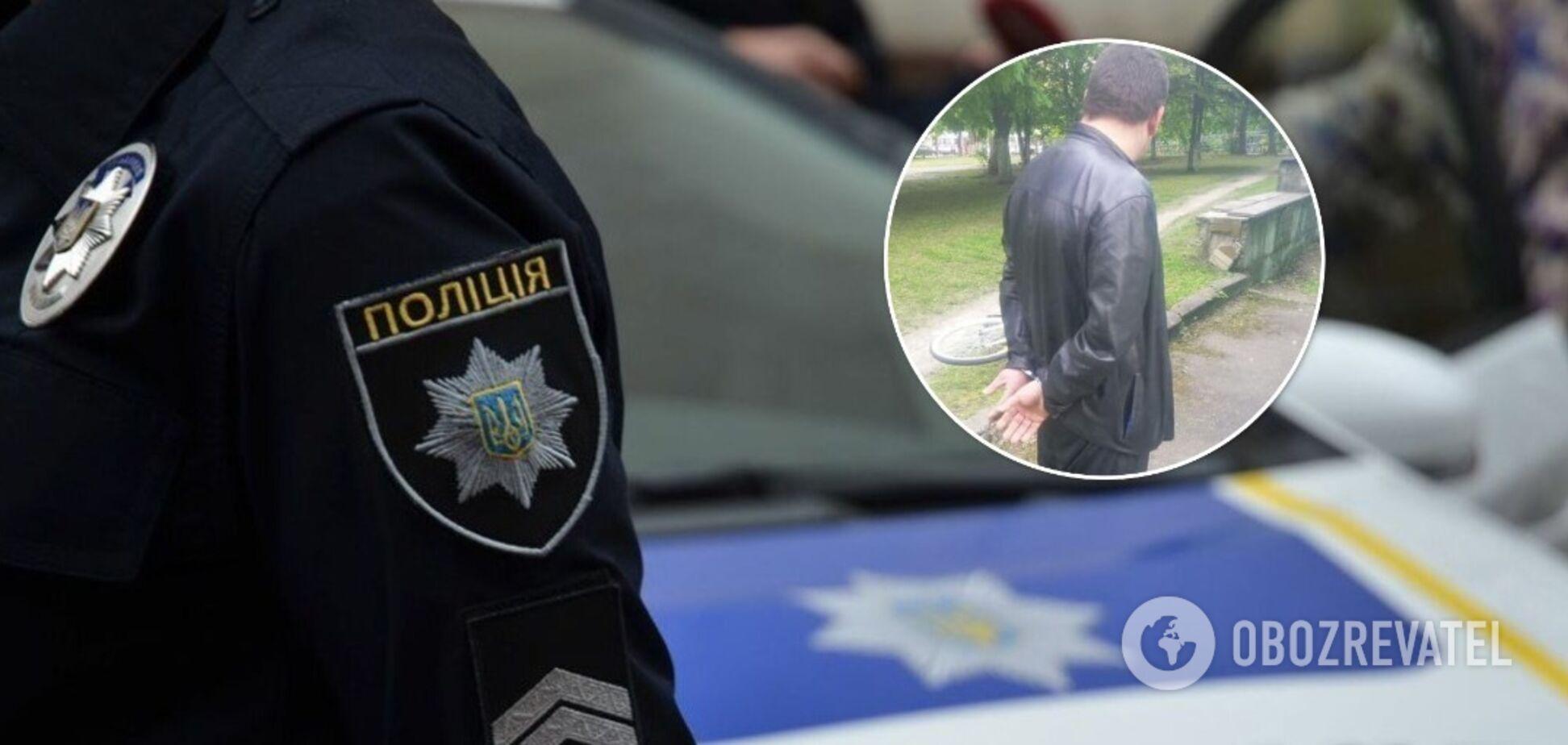 В Киеве патрульные задержали мужчину, который стрелял в водителя автобуса