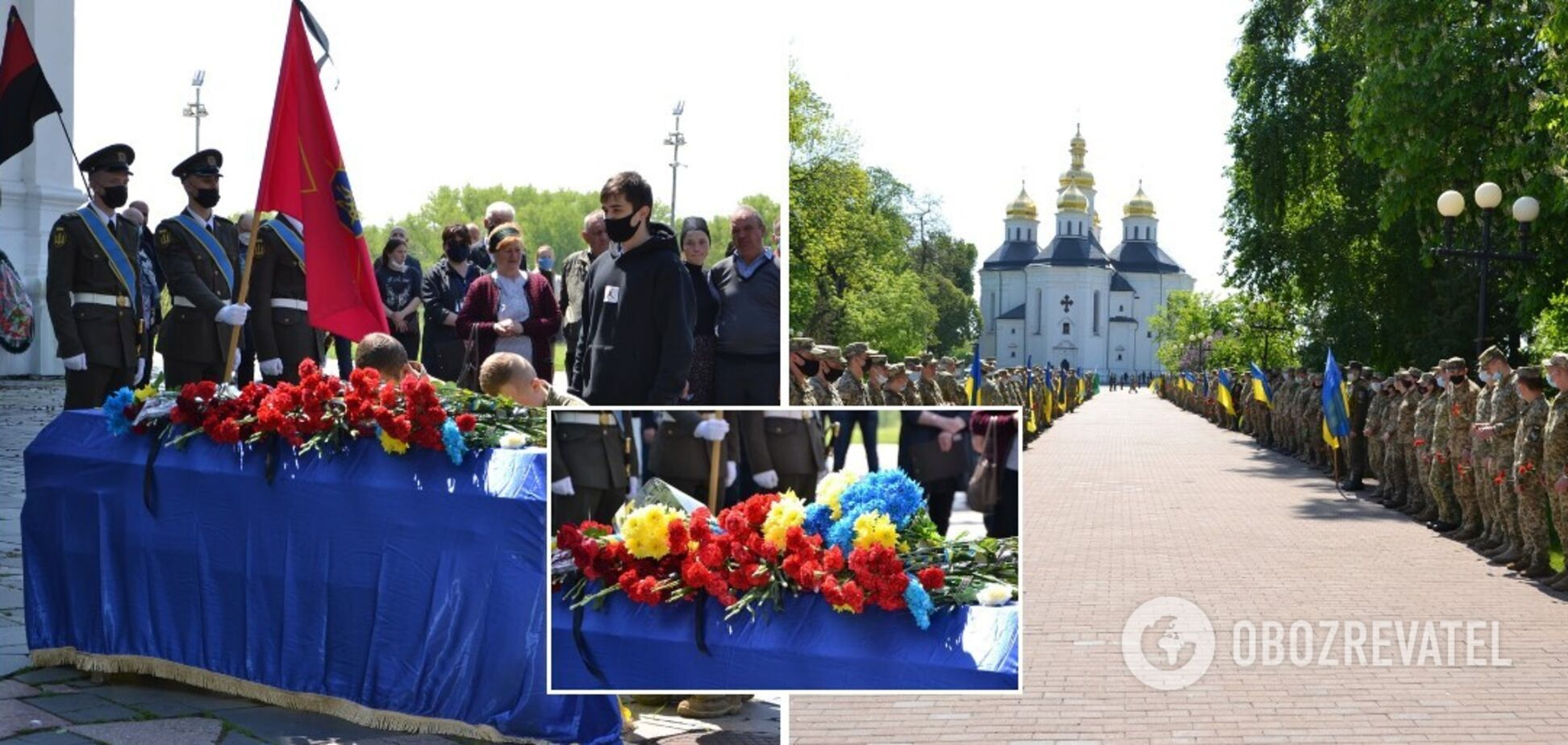 В Украине похоронили двух военных