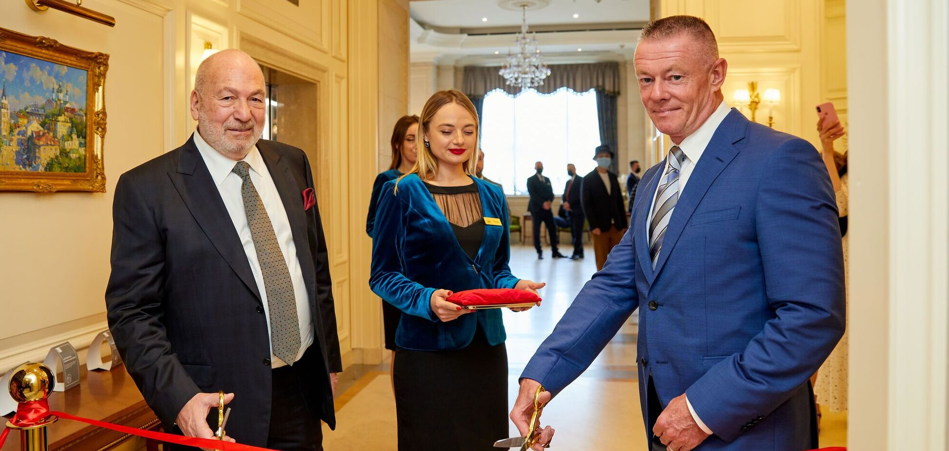 У Києві в 'Fairmont Grand Hotel' урочисто відкрили казино мережевого бренду 'Shangri La'