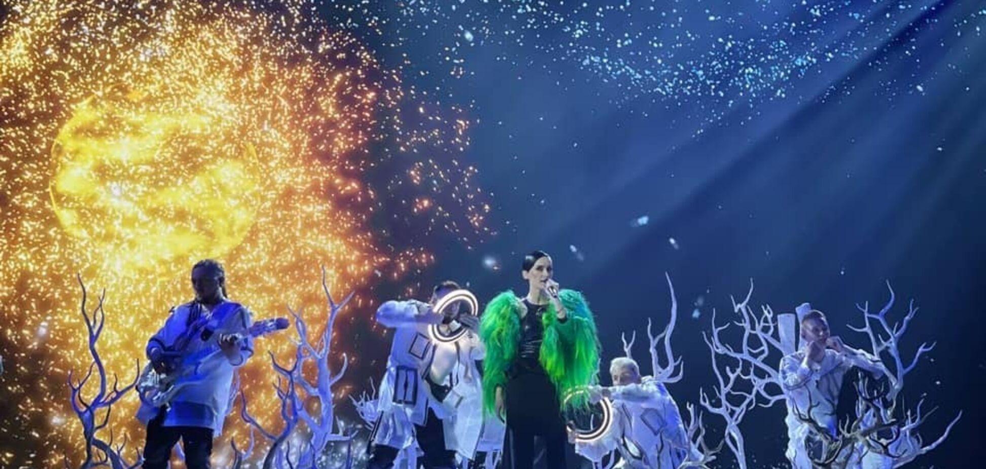 Go-A провела первую генеральную репетицию.