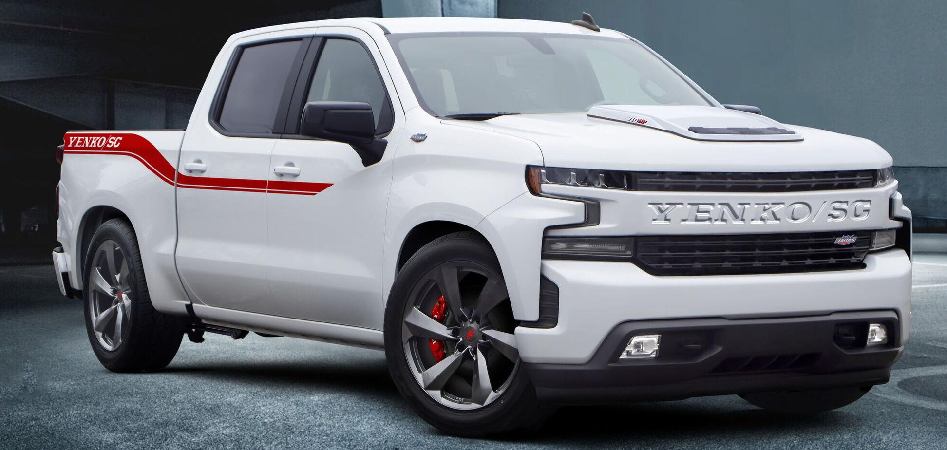 Chevrolet Silverado форсували до 710 'конячок'