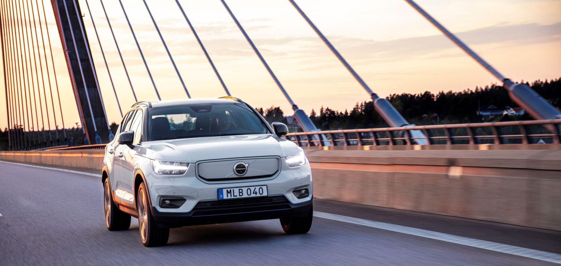 Перший електрокар Volvo став доступний для замовлення в Україні