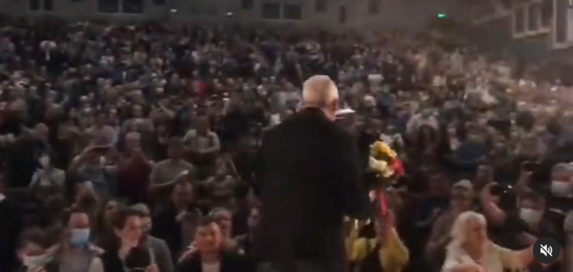 Андрій Макаревич зібрав на концерті в Полтаві повний зал шанувальників