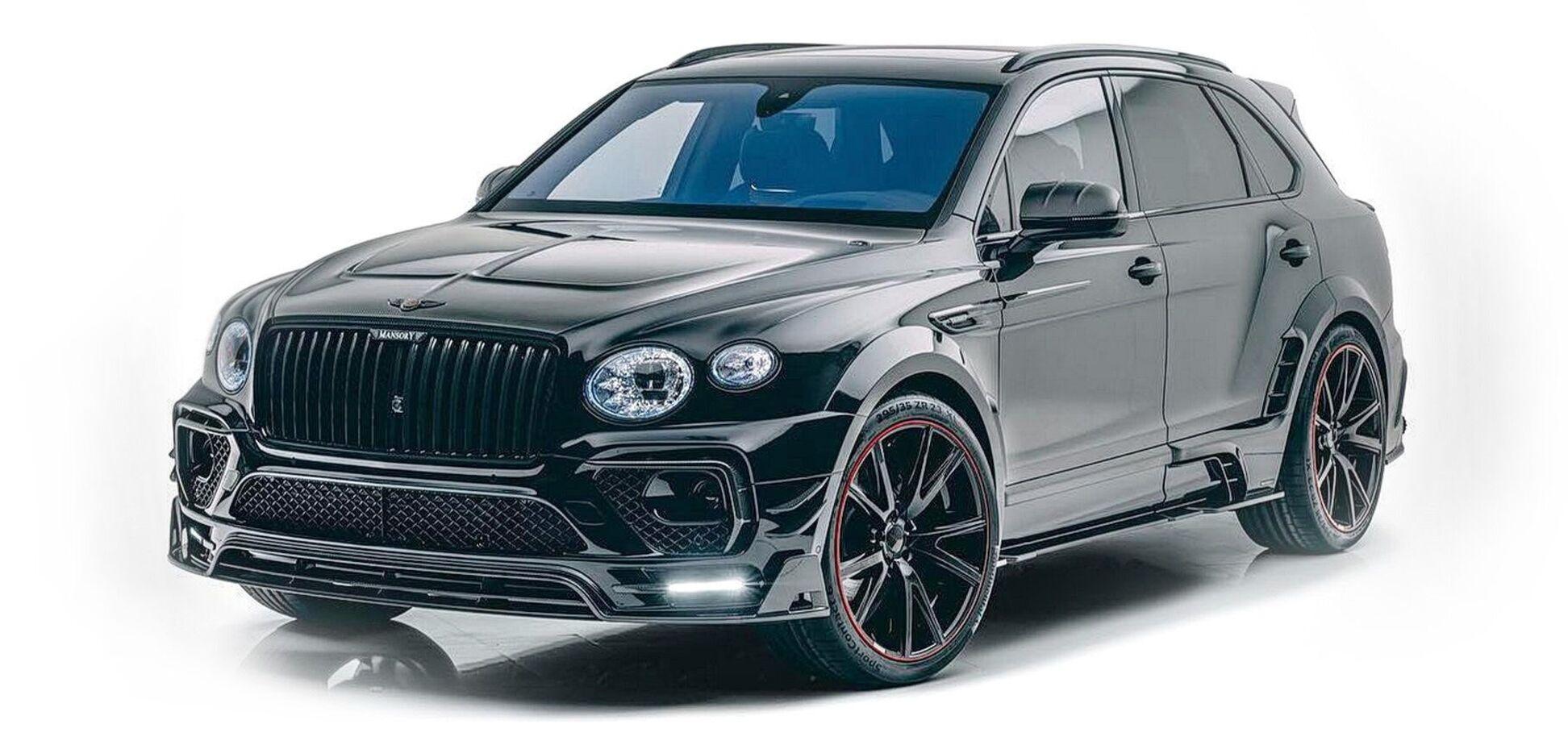 Mansory представил свое видение обновленного Bentley Bentayga
