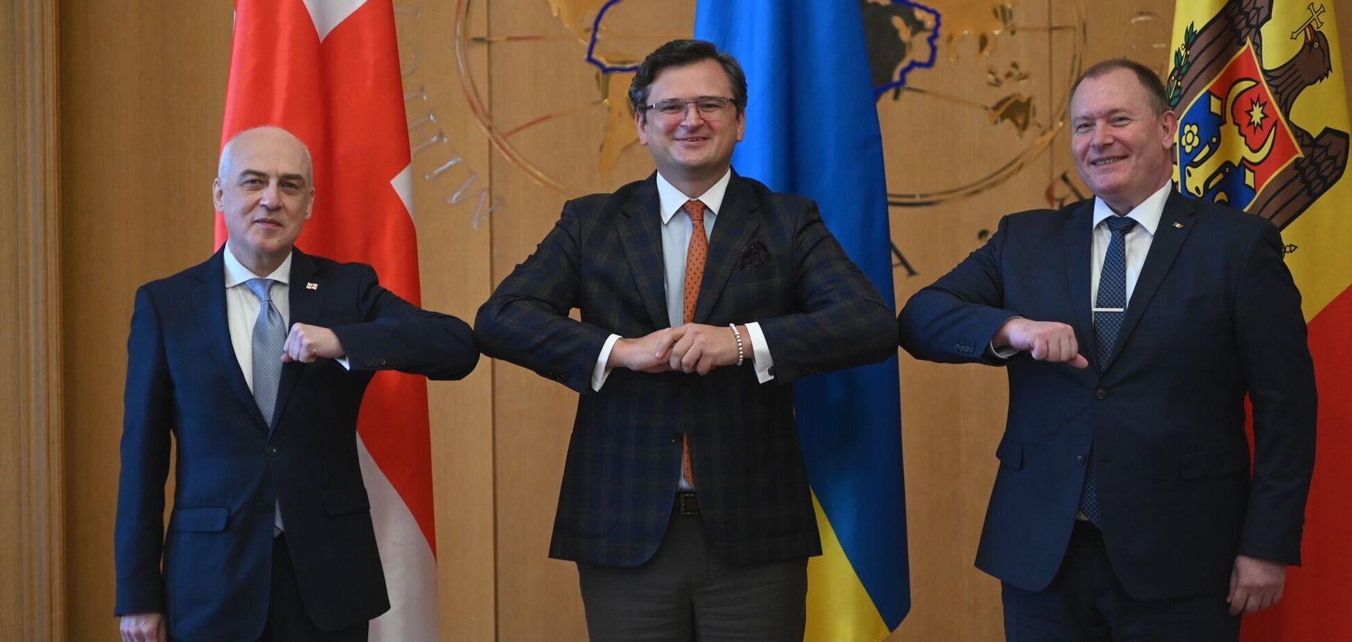 Україна створила з Грузією та Молдовою 'Асоційоване тріо'